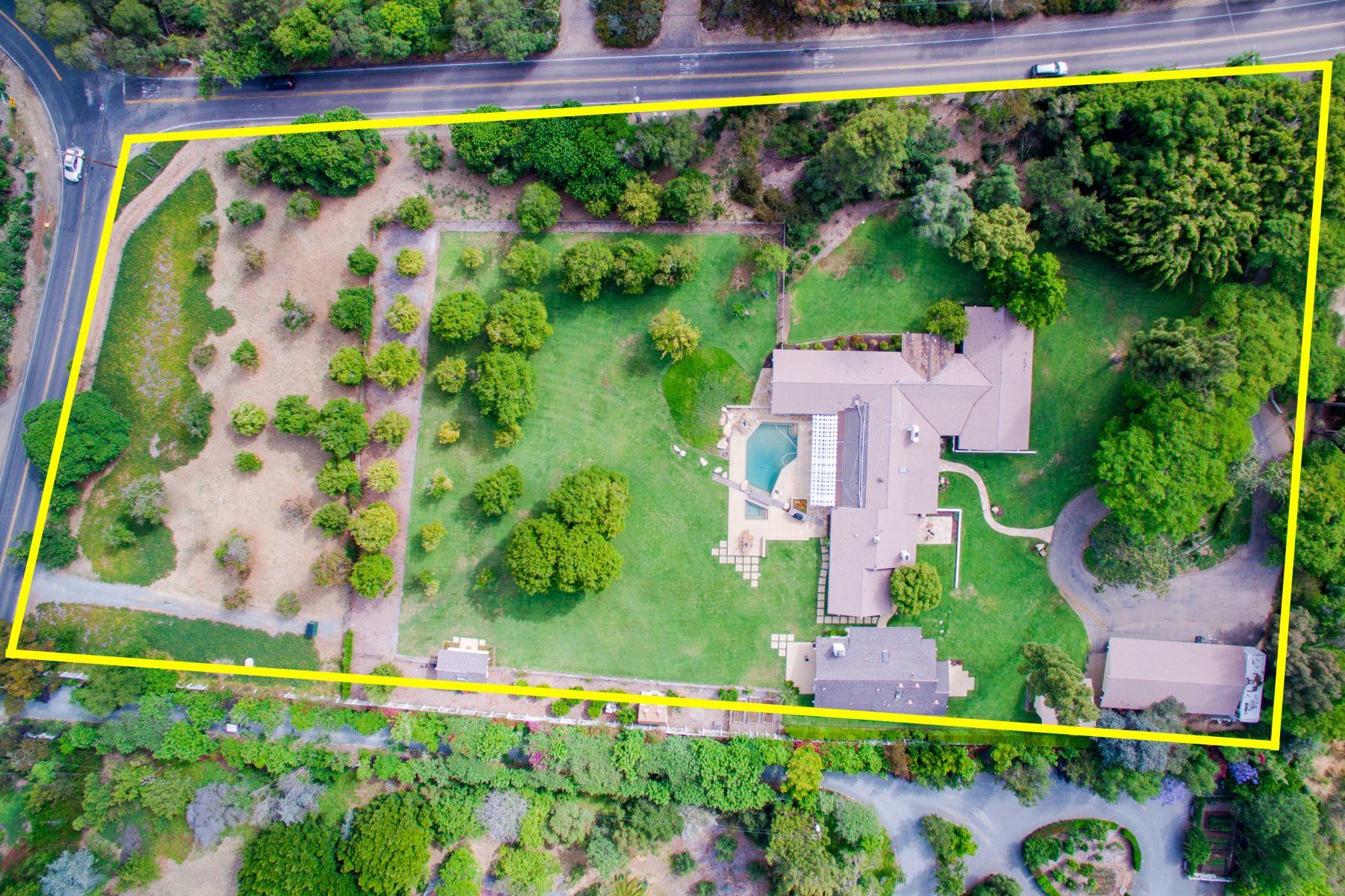 Nhà ở một gia đình vì Bán tại 5262 El Mirlo Rancho Santa Fe, California, 92067 Hoa Kỳ