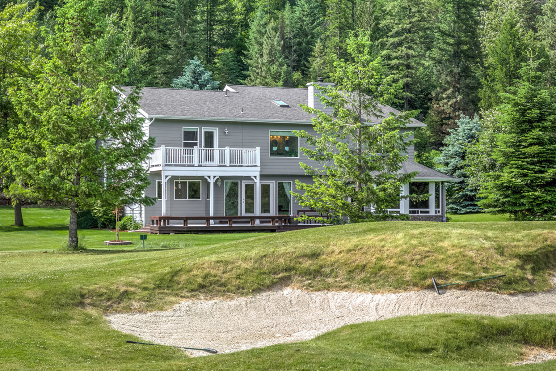 Single Family Home for Sale at Golf Resort Living 769 Lower Pack River Rd Sandpoint, Idaho, 83864 United States
