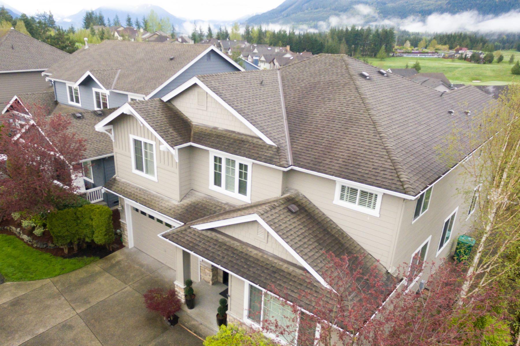 Single Family Home for Sale at Tranquil Snoqualmie Ridge Property 35903 SE Kaleetan Loop Snoqualmie, Washington, 98065 United States