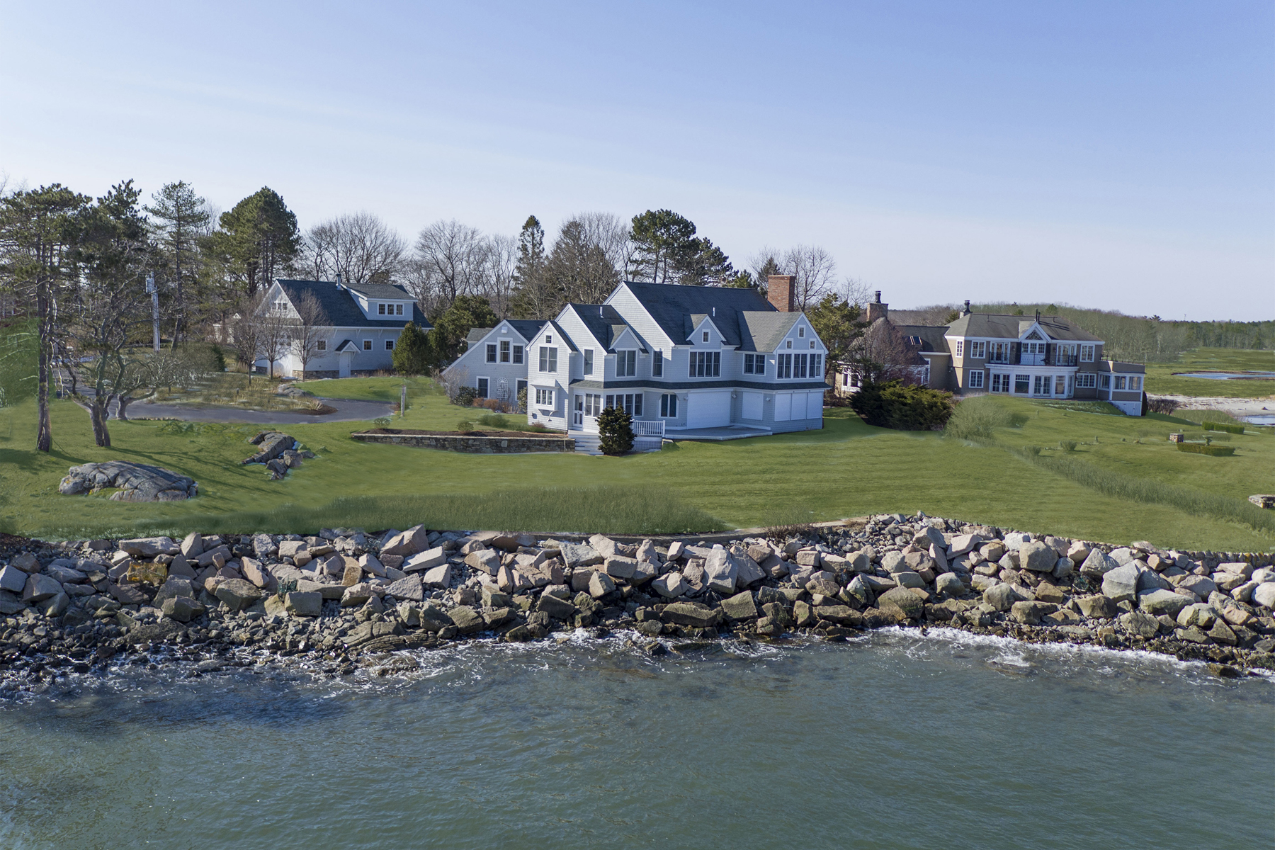 Single Family Home for Sale at 134 Marshall Point Road Kennebunkport, Maine 04046 United States