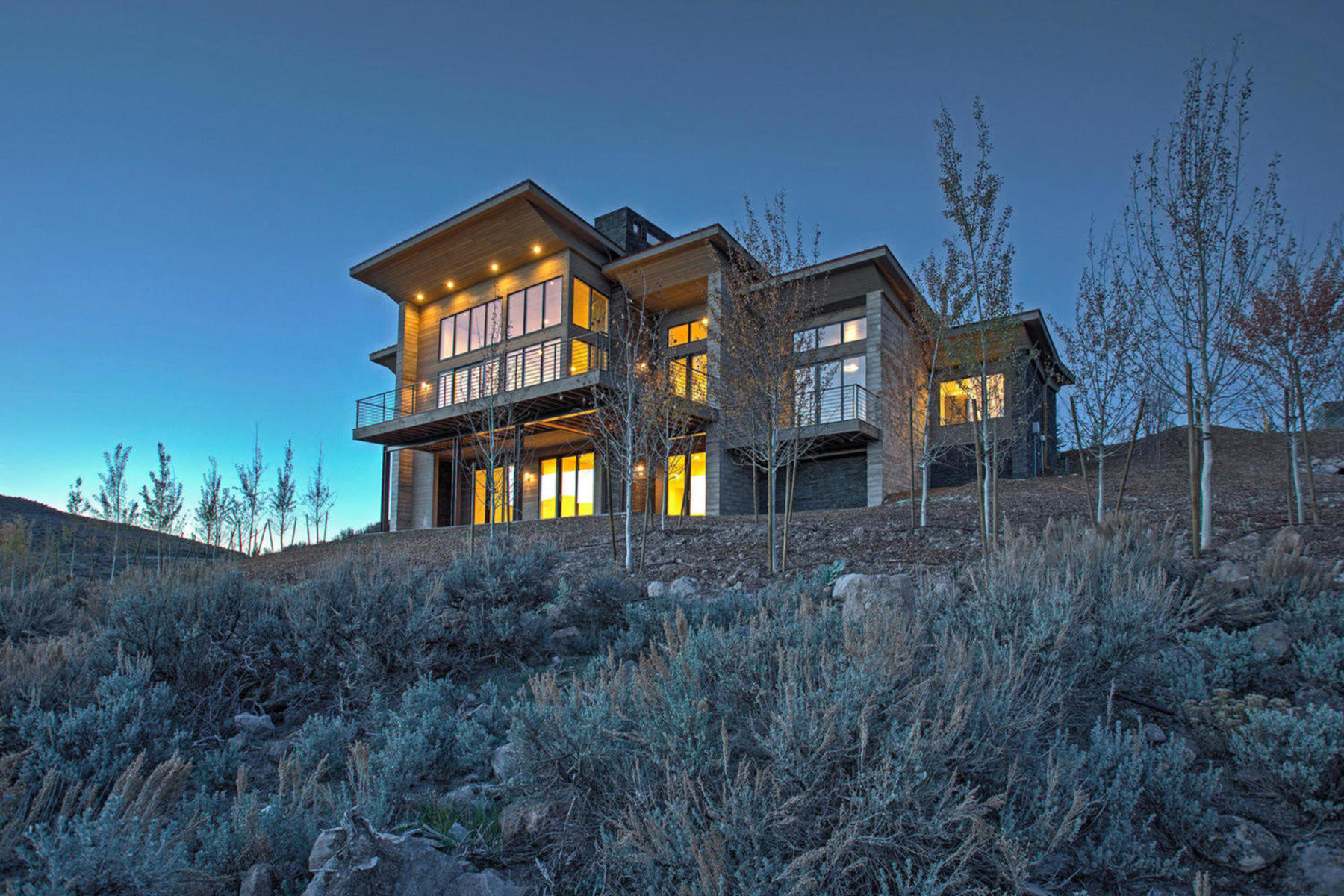 Single Family Home for Sale at Beautiful Nick Villa Looking Over Painted Valley Golf Course 6825 Golden Bear Loop West Lot #50, Park City, Utah, 84098 United States