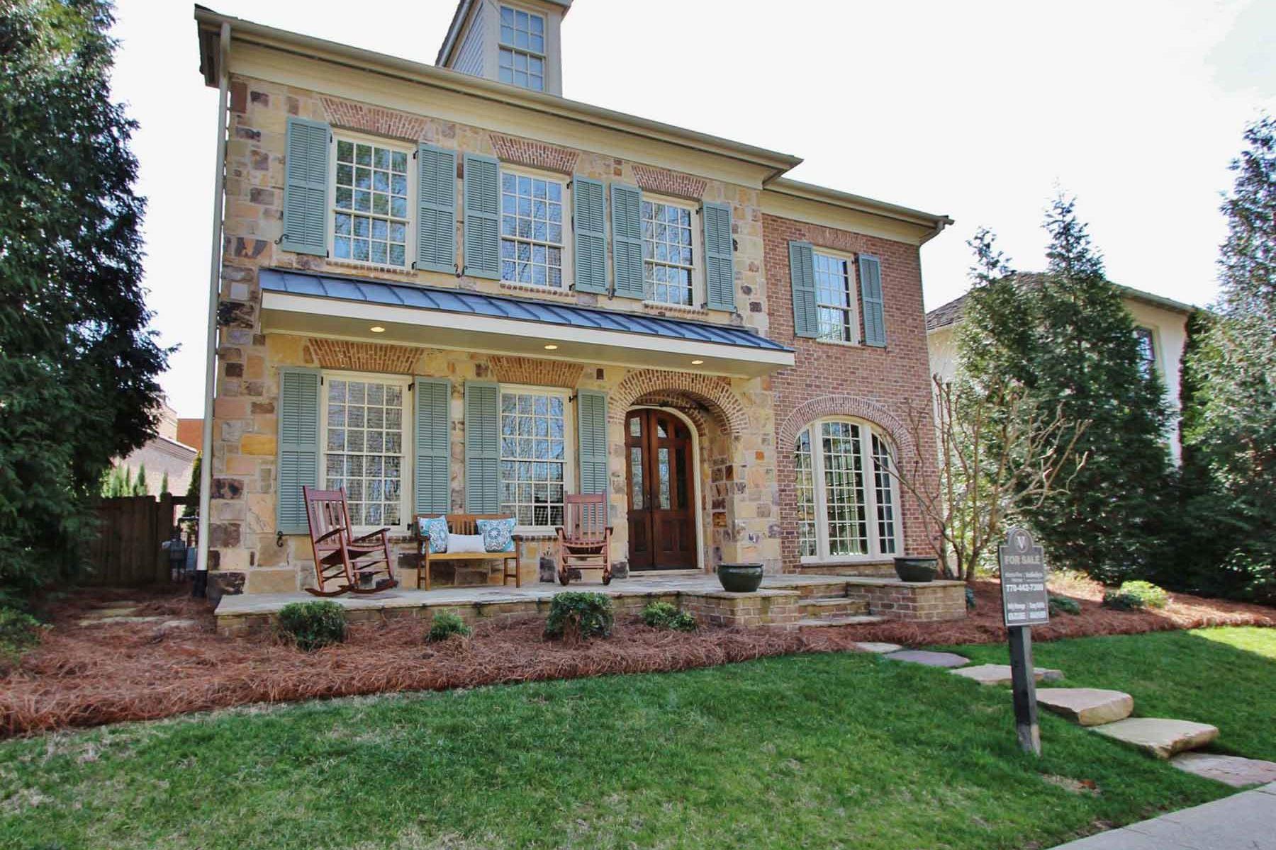 Casa para uma família para Venda às Beautiful Home in Sought After Vickery 6750 Lullwater Rd Cumming, Geórgia, 30040 Estados Unidos