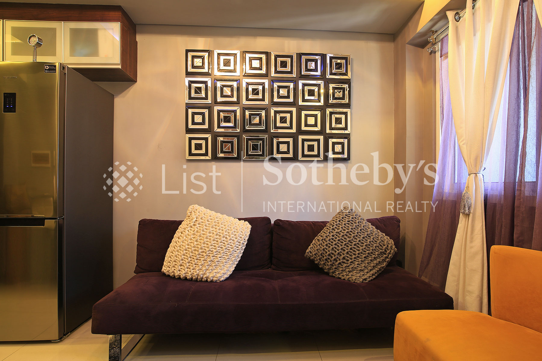 Additional photo for property listing at Contemporary One Bedroom in Ortigas Area  Mandaluyong City, Luzon 1550 Philippines