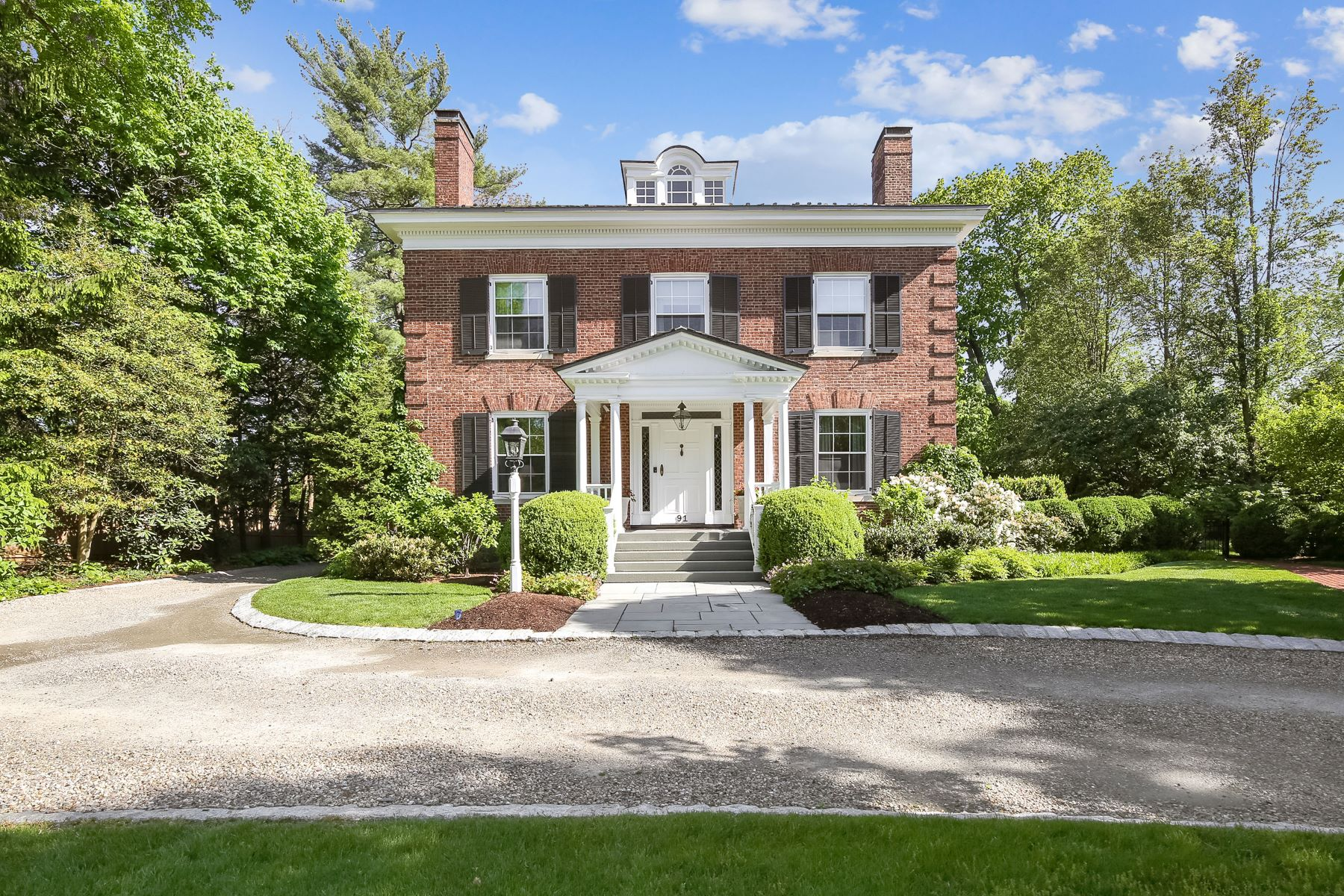 Single Family Homes for Sale at Georgian Revival 91 Prospect Street, Summit, New Jersey 07901 United States