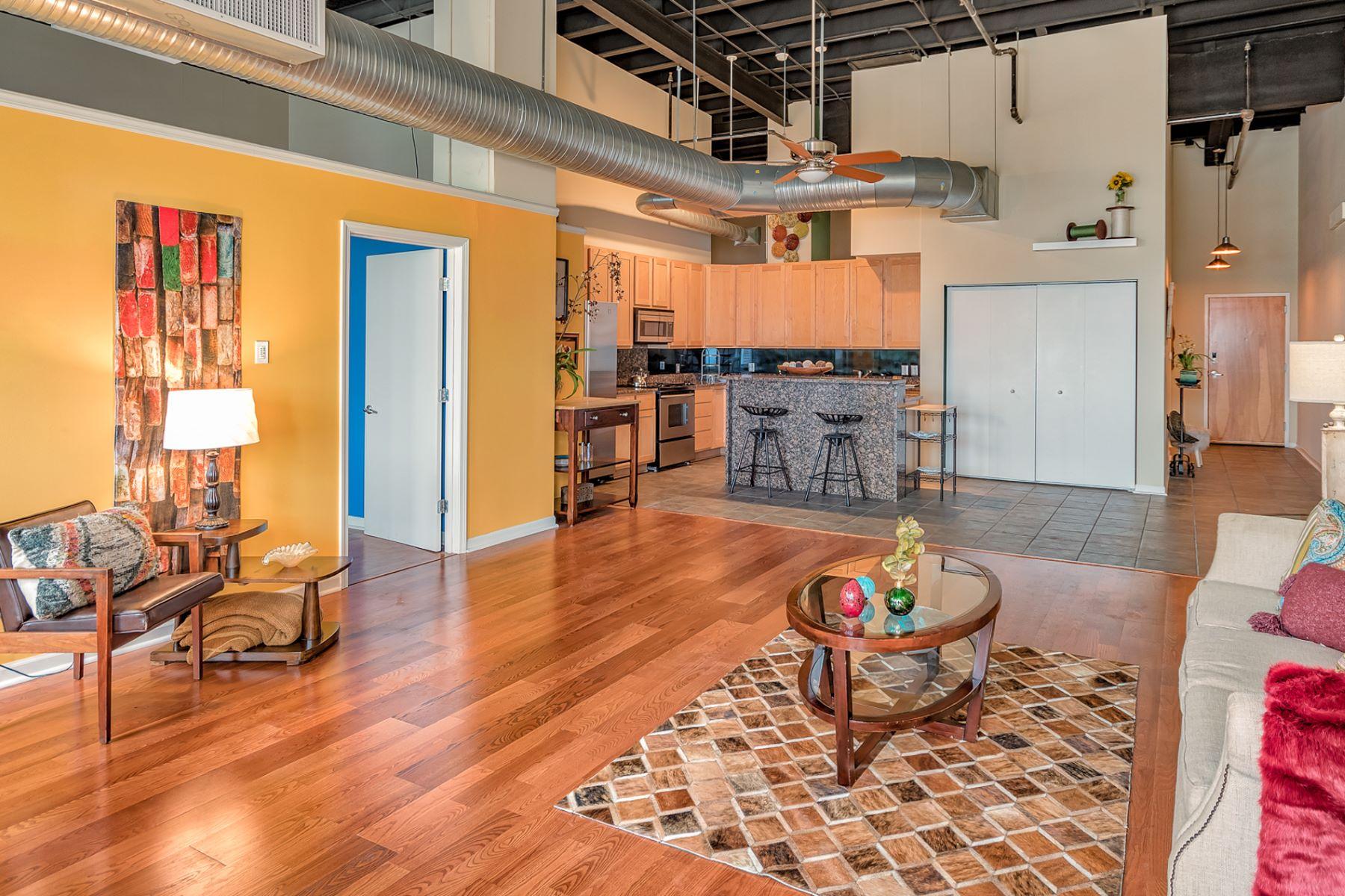 Additional photo for property listing at Locust Street 1501 Locust Street # 1208 St. Louis, Missouri 63131 United States