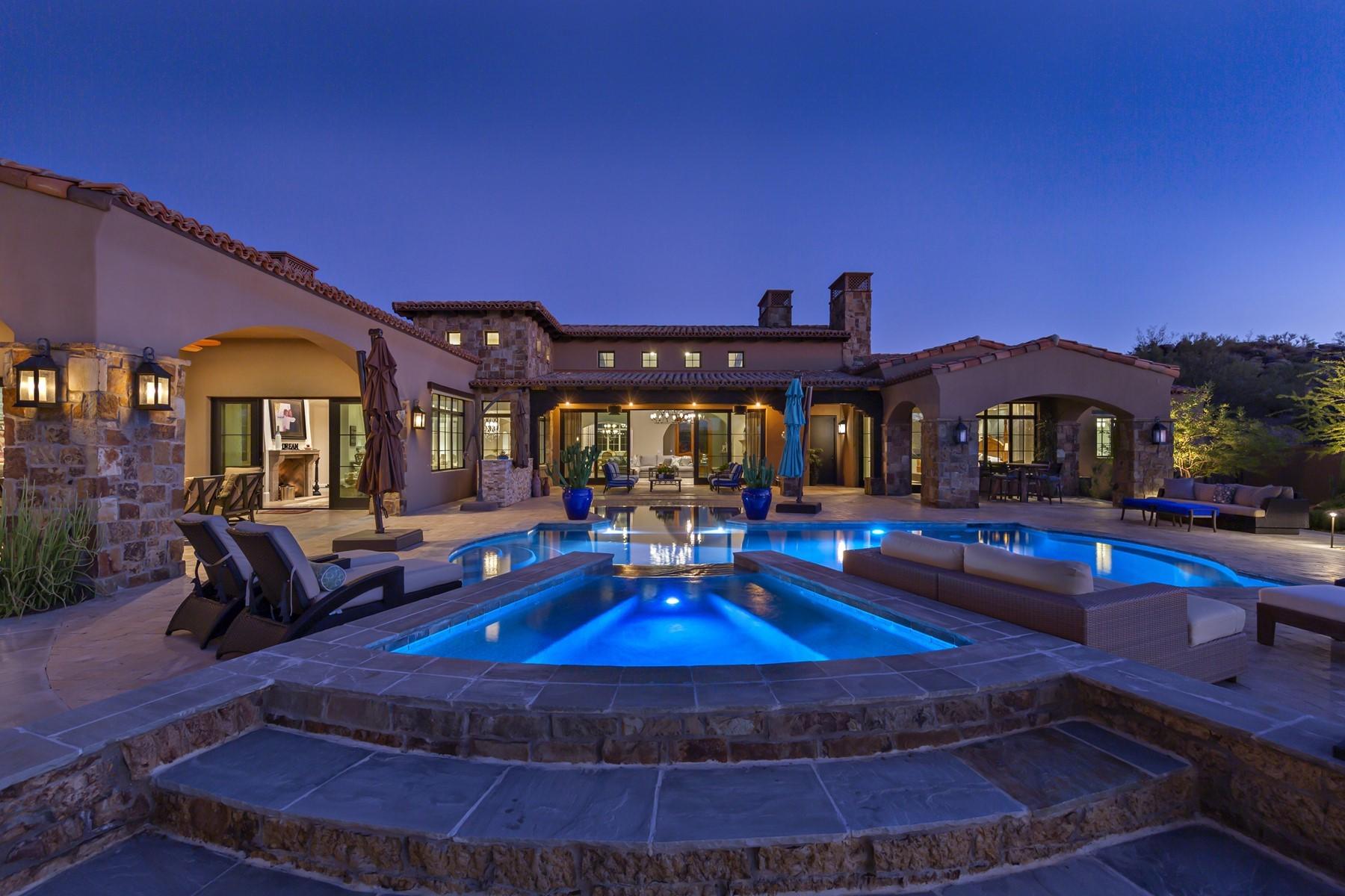 Single Family Homes för Försäljning vid Modern Farmhouse Estate 8681 E Old Field RD Scottsdale, Arizona 85266 Förenta staterna