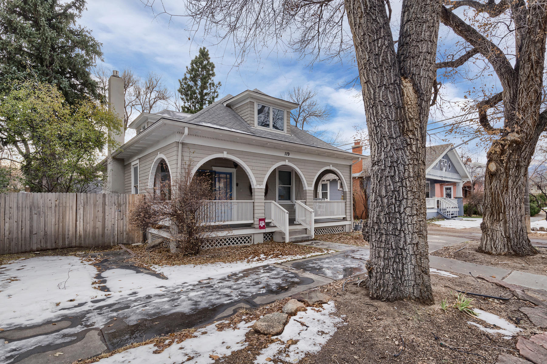 Property for Active at Turn of the Century charm + modern updating in a coveted location! 119 E Espanola St Colorado Springs, Colorado 80907 United States