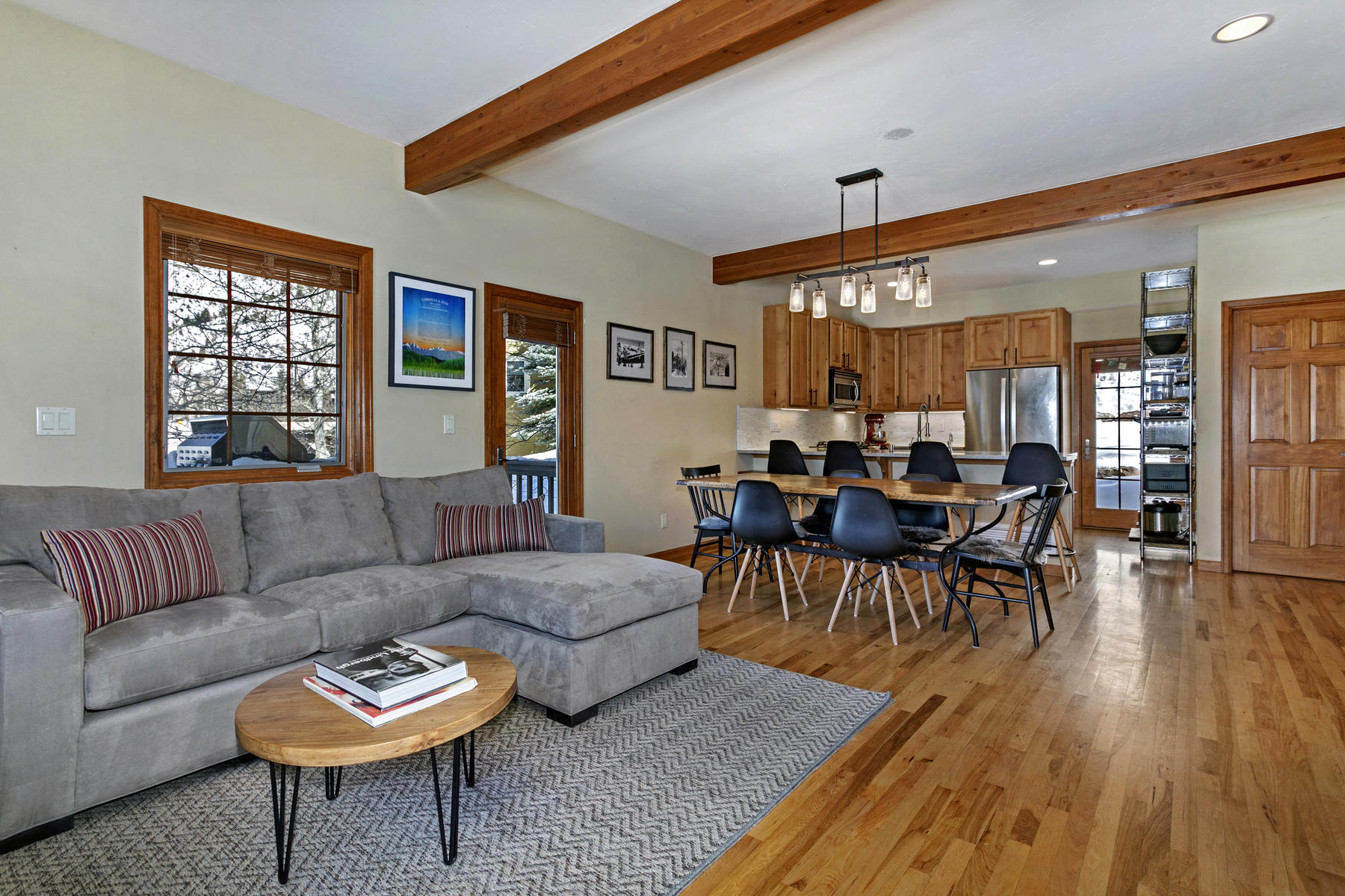 townhouses for Active at Wonderfully located end-unit 3-bedroom townhome in downtown Minturn 122 Taylor Street Minturn, Colorado 81645 United States
