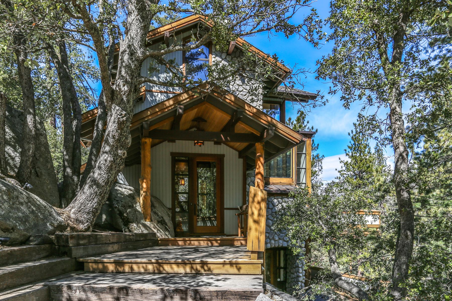 Single Family Homes for Active at 54789 Wildwood Dr Idyllwild, California 92549 United States