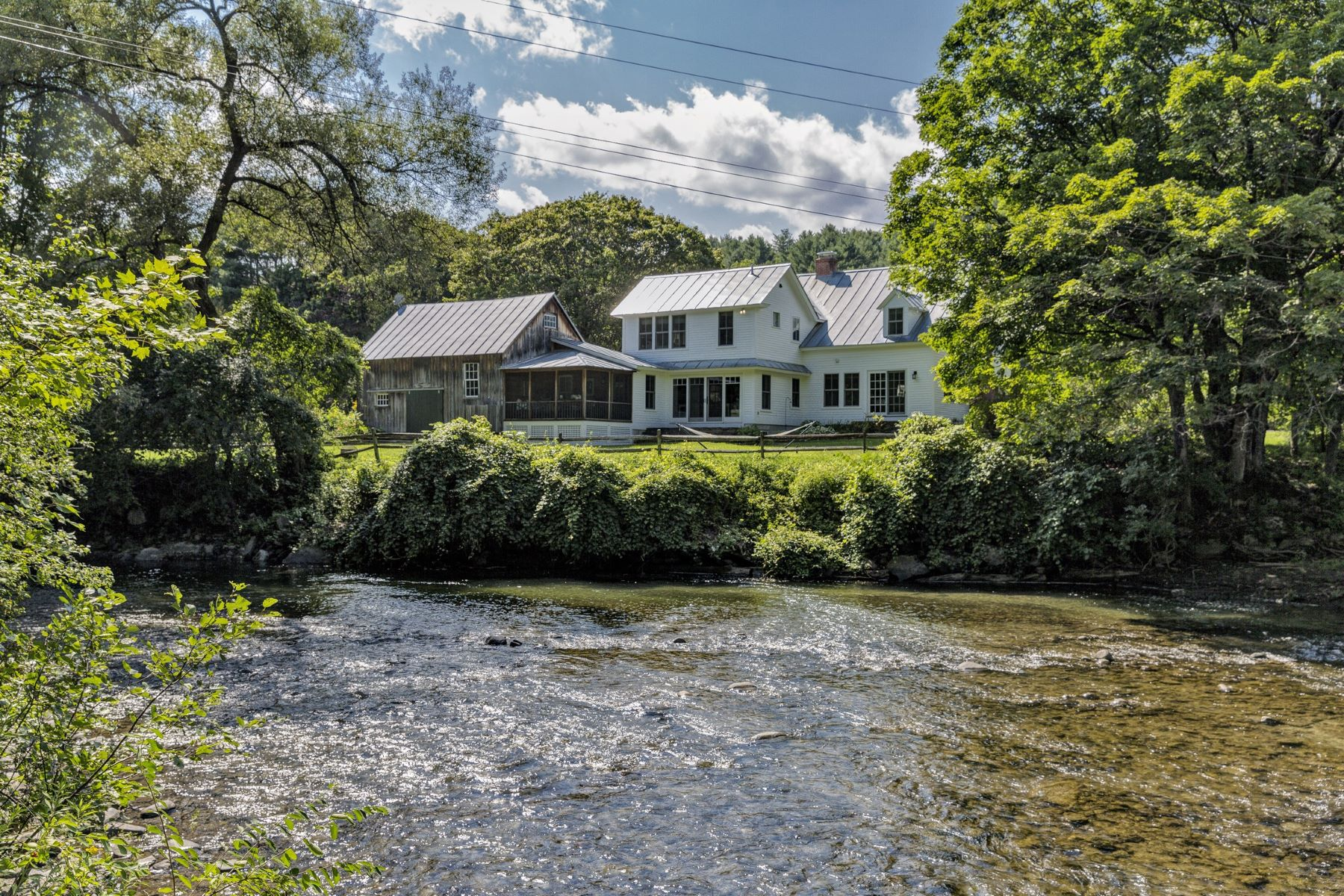 single family homes for Sale at By The Riverside 114 Academy Rd Norwich, Vermont 05055 United States
