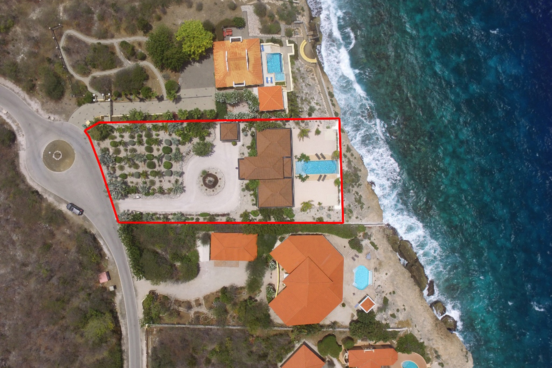 Additional photo for property listing at Coral Estate Oceanfront Villa Santa Barbara Plantation,  Curacao