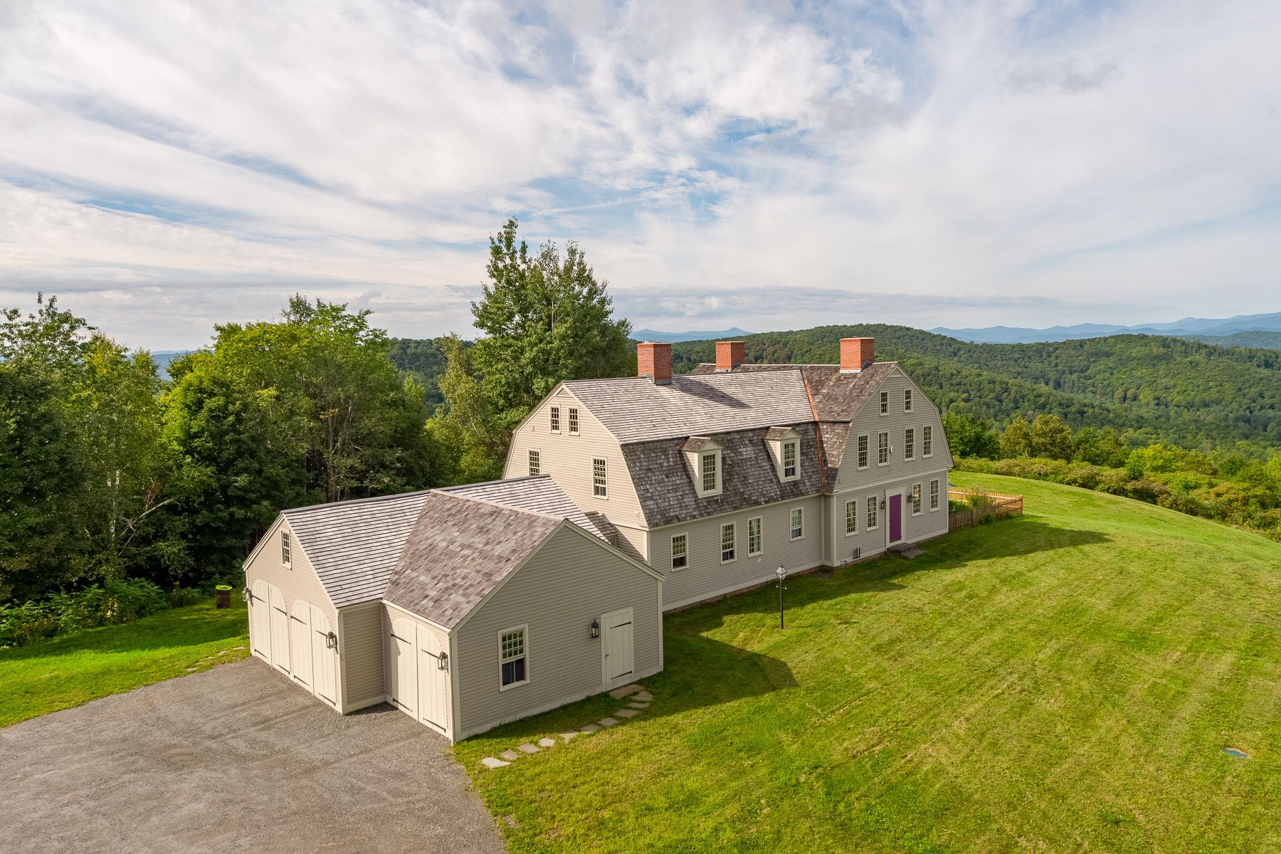 single family homes for Sale at Four Bedroom Reconstructed Antique Home with View 359 Potash Hill Rd Tunbridge, Vermont 05077 United States