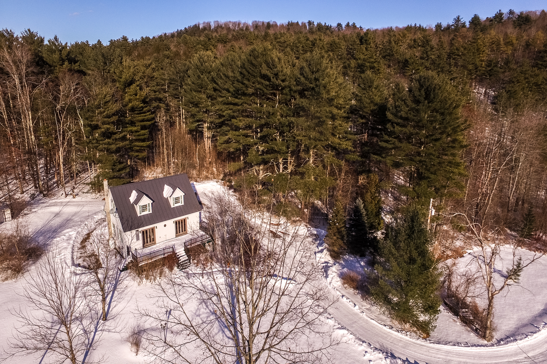 Single Family Homes for Sale at 8.3 Acres, Lake Bomoseen 292 FT Frontage 4541 Route 30 N. Castleton, Vermont 05735 United States
