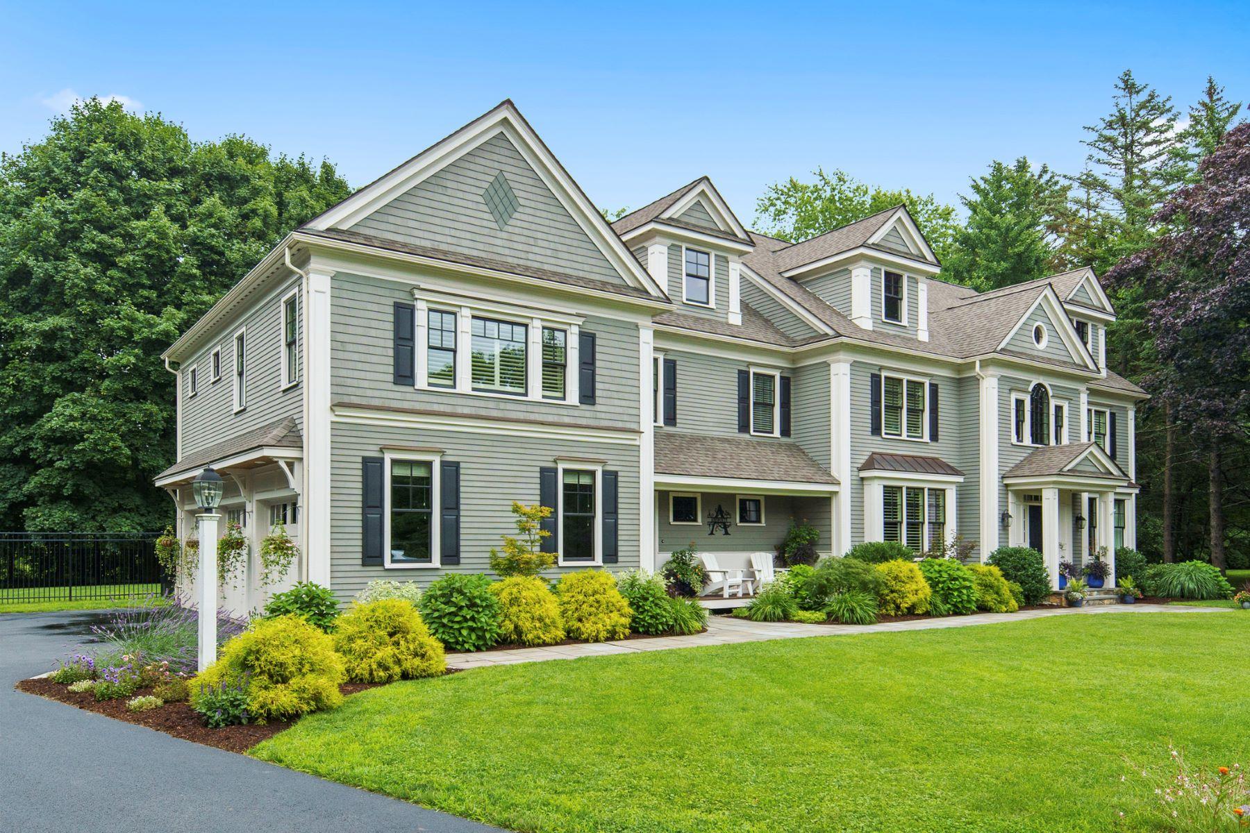 Single Family Homes 용 매매 에 Lexington, 매사추세츠 02420 미국
