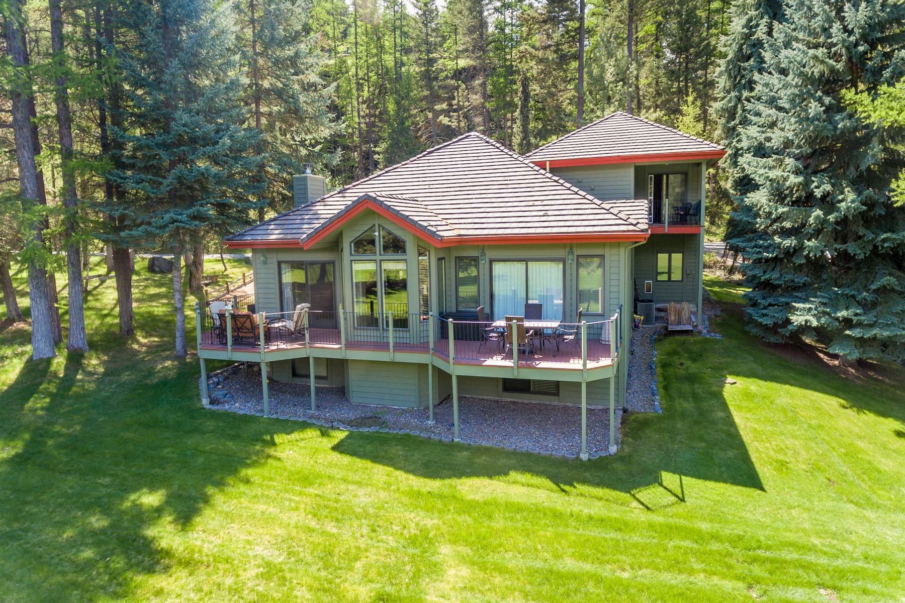 Single Family Home for Sale at 163 Golf Terrace, Bigfork, MT 59911 163 Golf Terr Bigfork, Montana 59911 United States