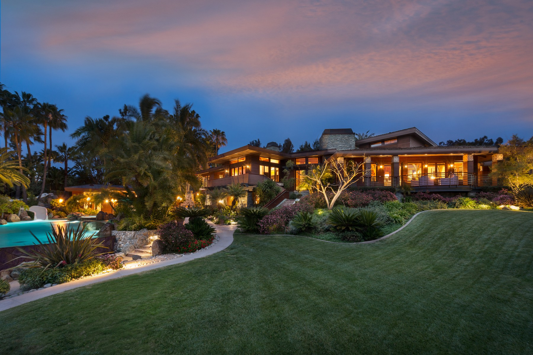 Single Family Homes por un Venta en The Scripps' Ranch 4840 El Secreto Rancho Santa Fe, California 92067 Estados Unidos