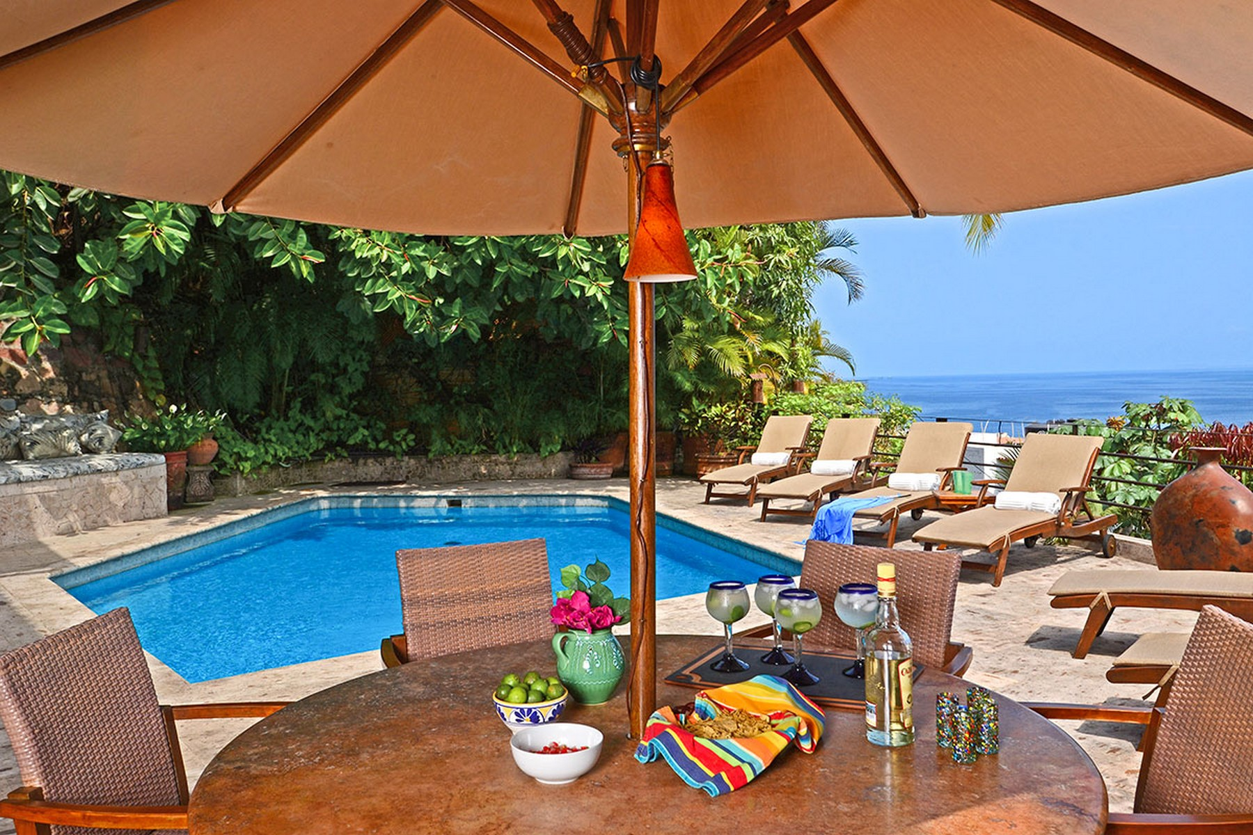 Single Family Home for Rent at VACATION RENTAL CASA ILEANA Puerto Vallarta, 48380 Mexico