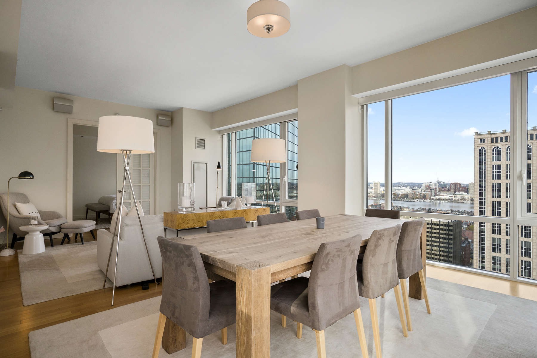 Condominium for Active at Rare Four Bedroom Back Bay Luxury Home At The Clarendon 400 Stuart Street Unit 26A Boston, Massachusetts 02116 United States