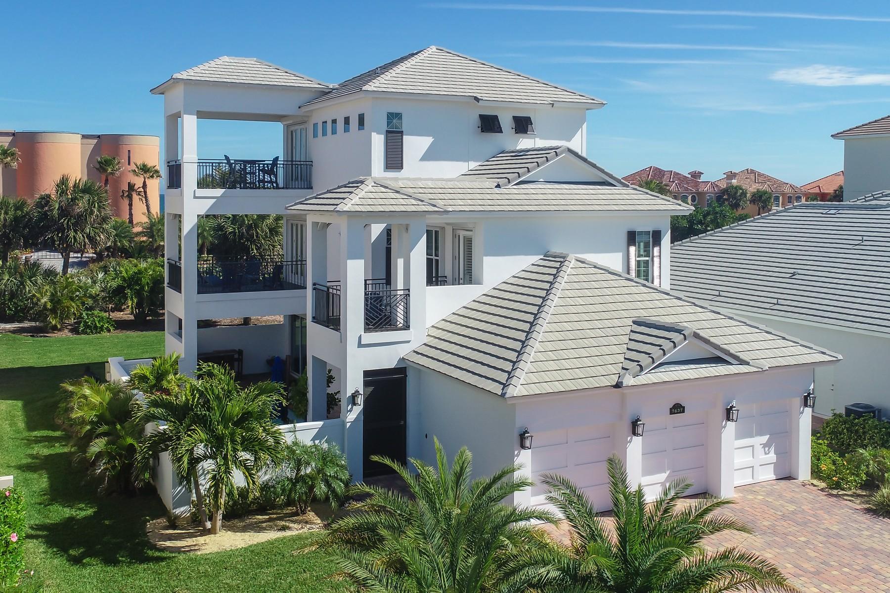 Property for Sale at Gorgeous Coastal Pool Home in Maritime Hammock at Aquarina. 7637 Kiawah Way Melbourne Beach, Florida 32951 United States