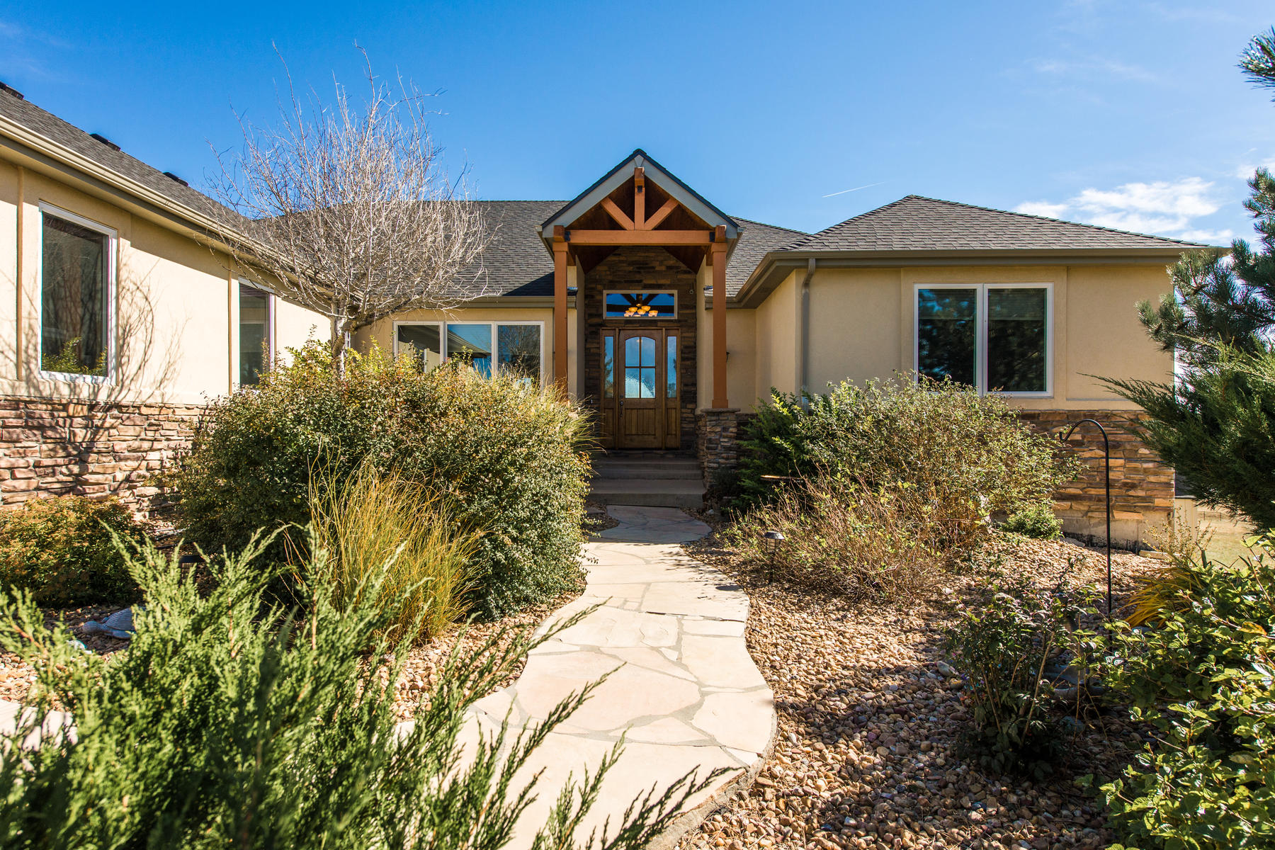 Single Family Home for Active at Beautiful Custom Ranch Style Home On 10 Acres! 47992 Monarch Circle Parker, Colorado 80138 United States