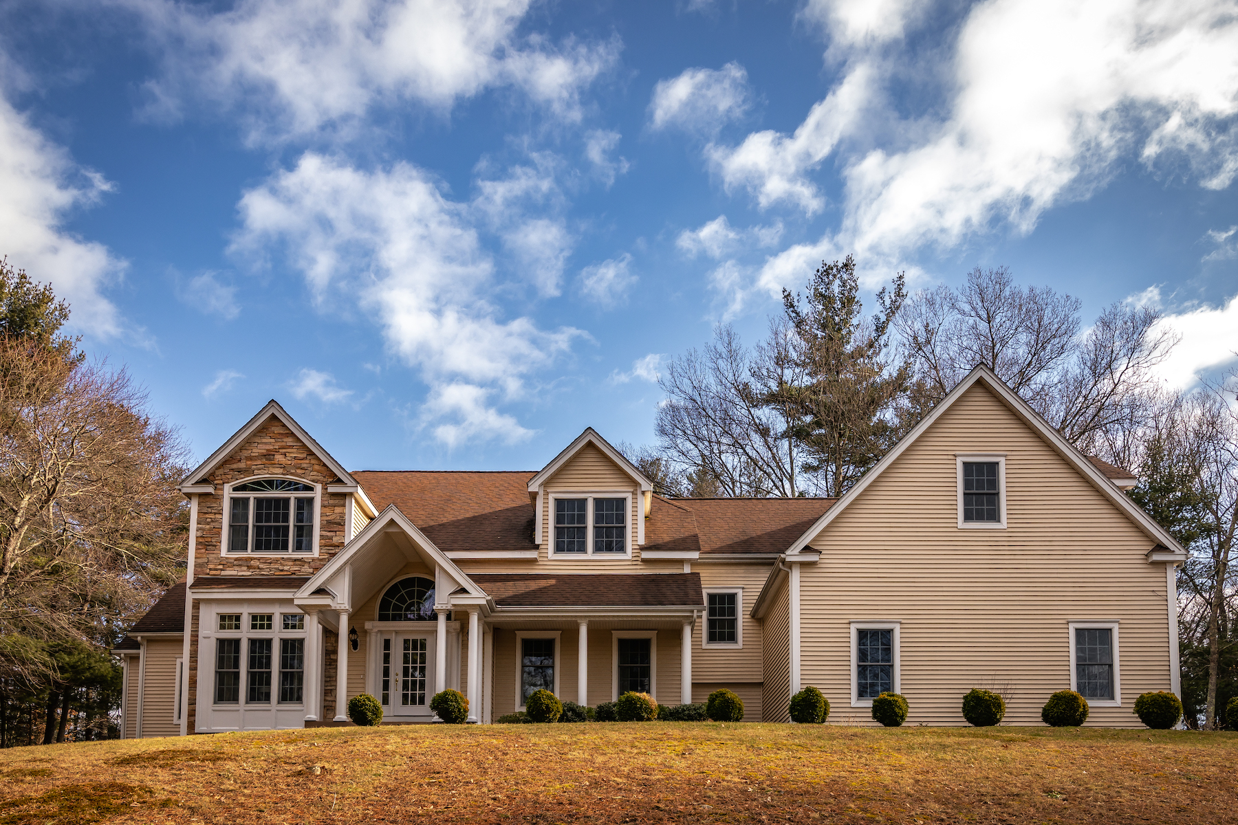 Single Family Homes for Sale at Custom Built Colonial - A Unique And Hidden Retreat 10 Fay Mountain Road Grafton, Massachusetts 01519 United States