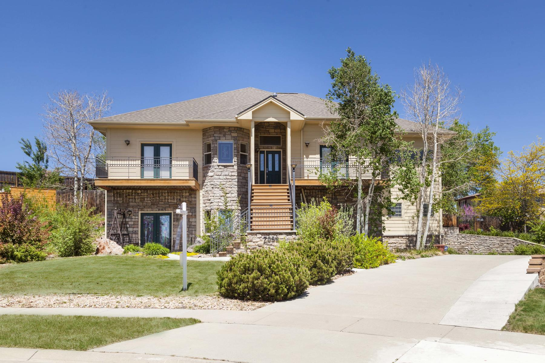 Single Family Home for Active at This Custom Home Is A Designers Masterpiece 7052 Vance Street Arvada, Colorado 80003 United States