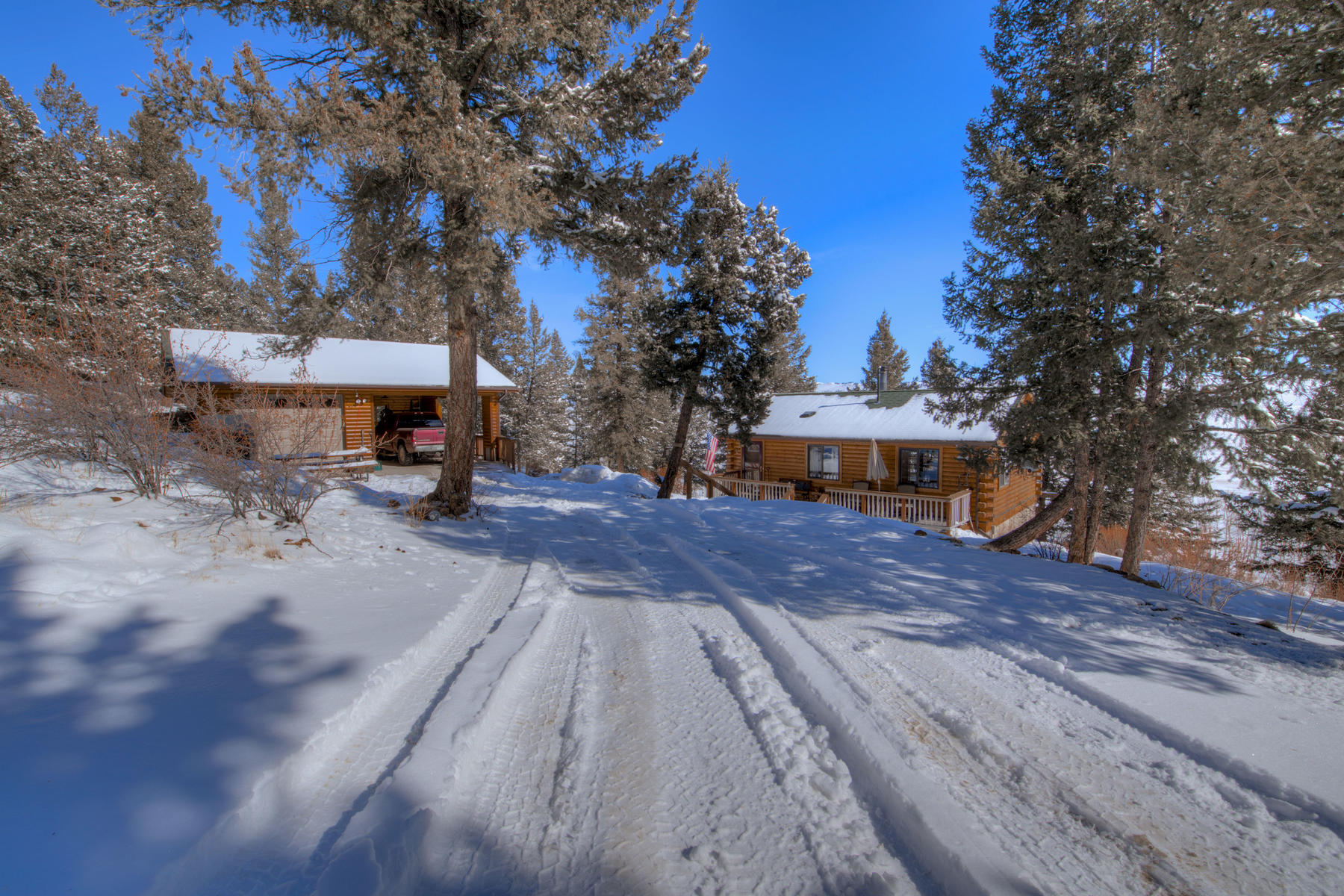 Single Family Homes のために 売買 アット Log Home in Redhill Forest 548 Redhill Road Fairplay, コロラド 80440 アメリカ