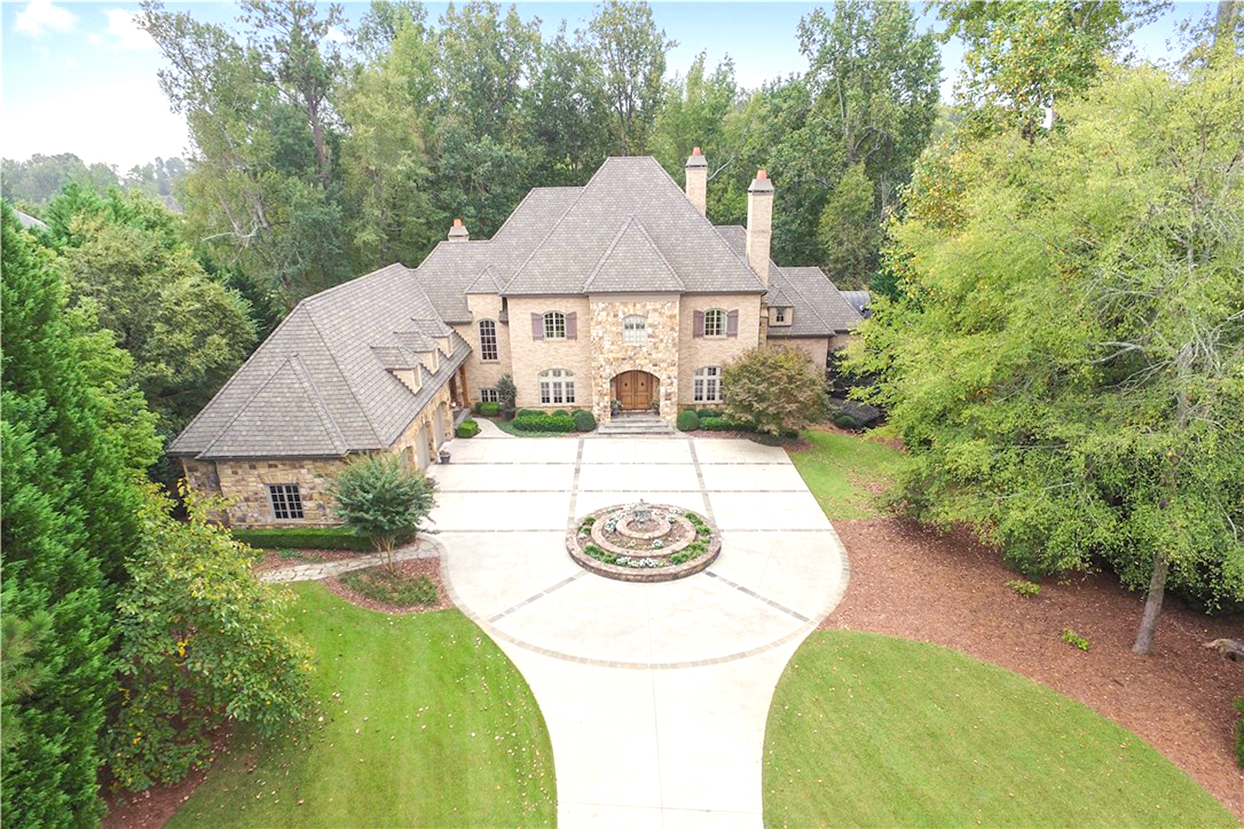 Single Family Home for Sale at Magnificent Custom Built Home In Sugarloaf Country Club 2442 Delbarton Place Duluth, Georgia 30097 United States