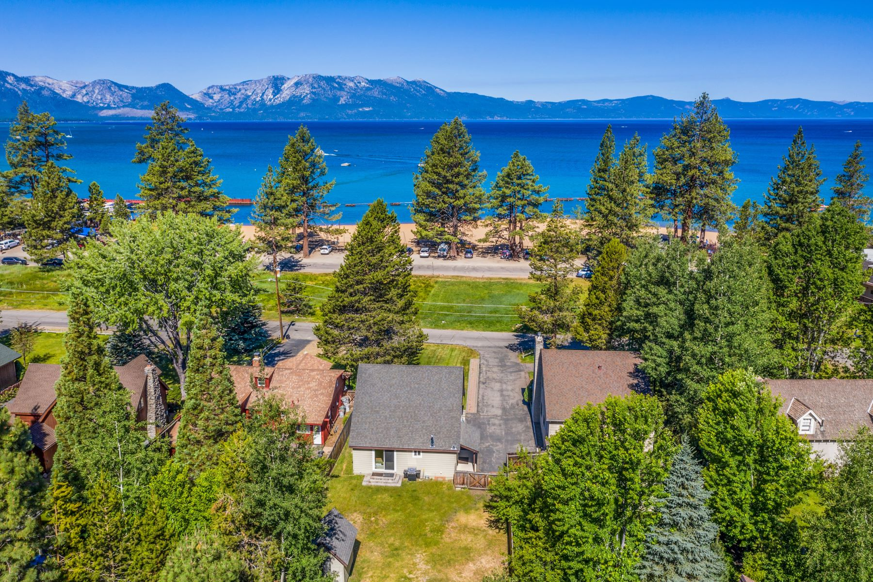 Single Family Homes for Active at Lakefront Property 4068/4067 Sunrise Lane South Lake Tahoe, California 96150 United States