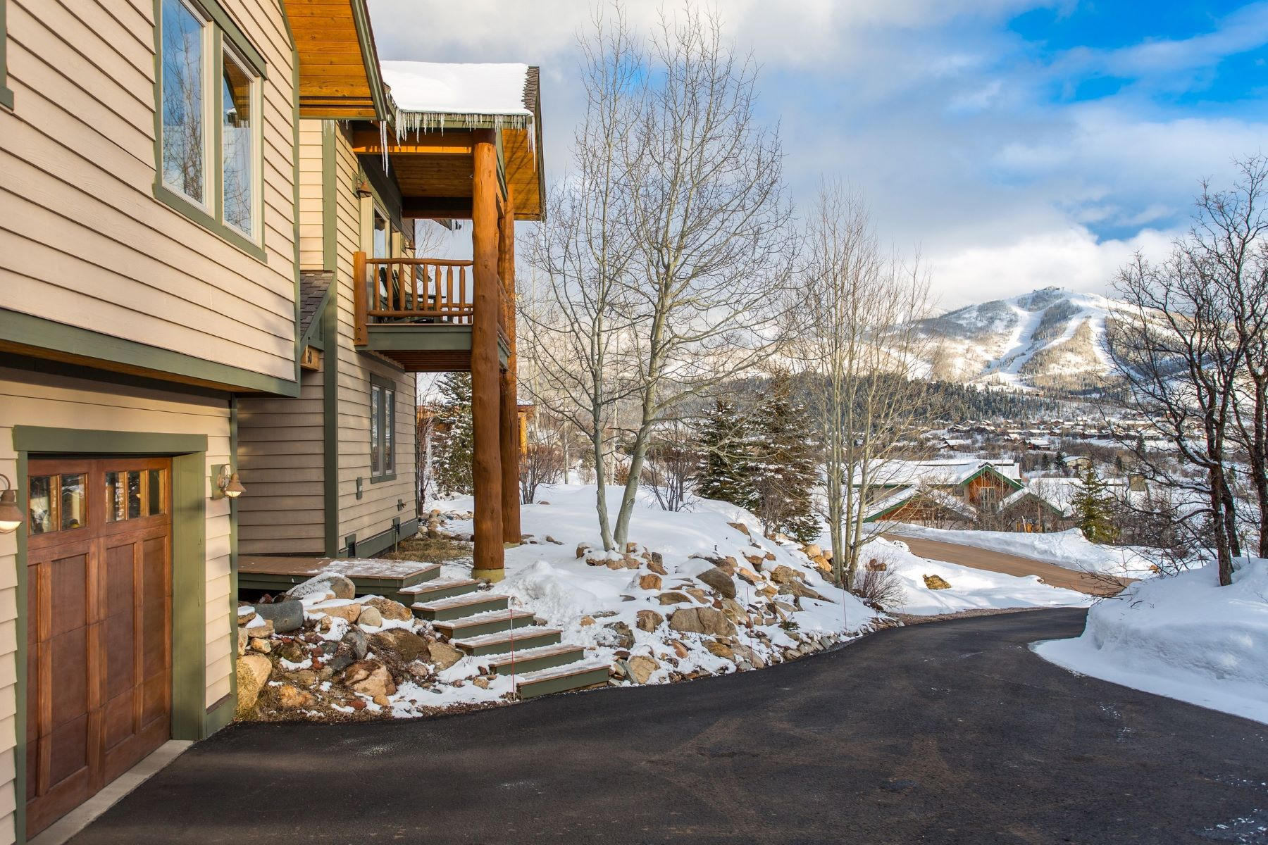 Single Family Home for Sale at Stunning Hillside Home 260 Storm Peak Ct Steamboat Springs, Colorado 80487 United States