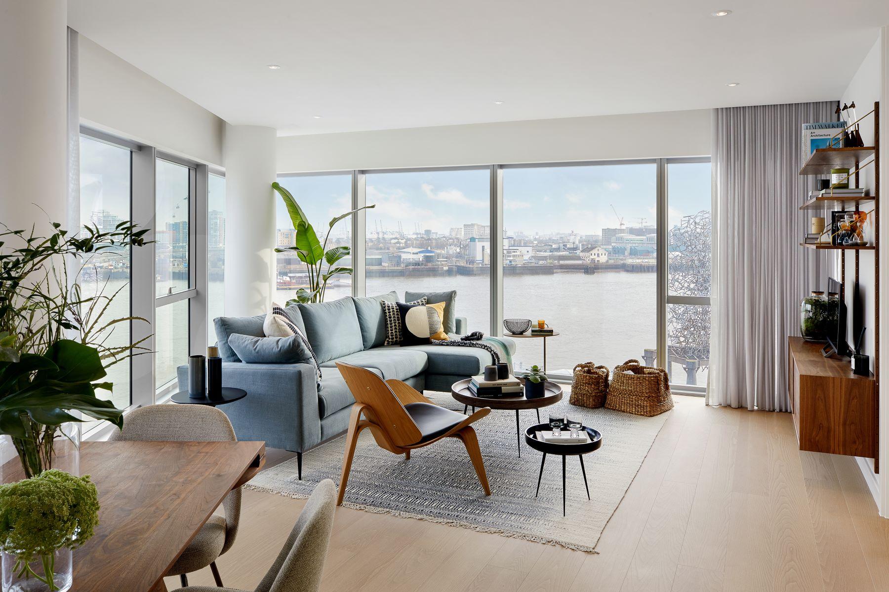 Apartments for Sale at Greenwich Peninsula Building 1 (02.06), Upper Riverside London, England SE10 0SQ United Kingdom