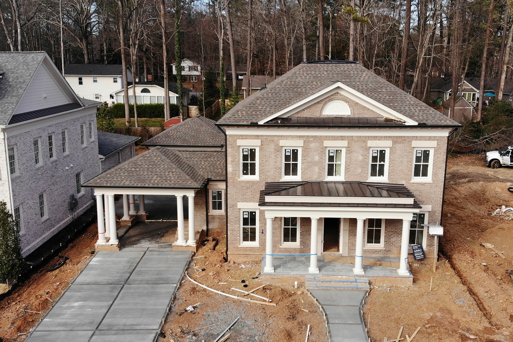 Single Family Homes for Active at Be One of the Twelve on Canton in Downtown Alpharetta 2115 Canton View Alpharetta, Georgia 30009 United States