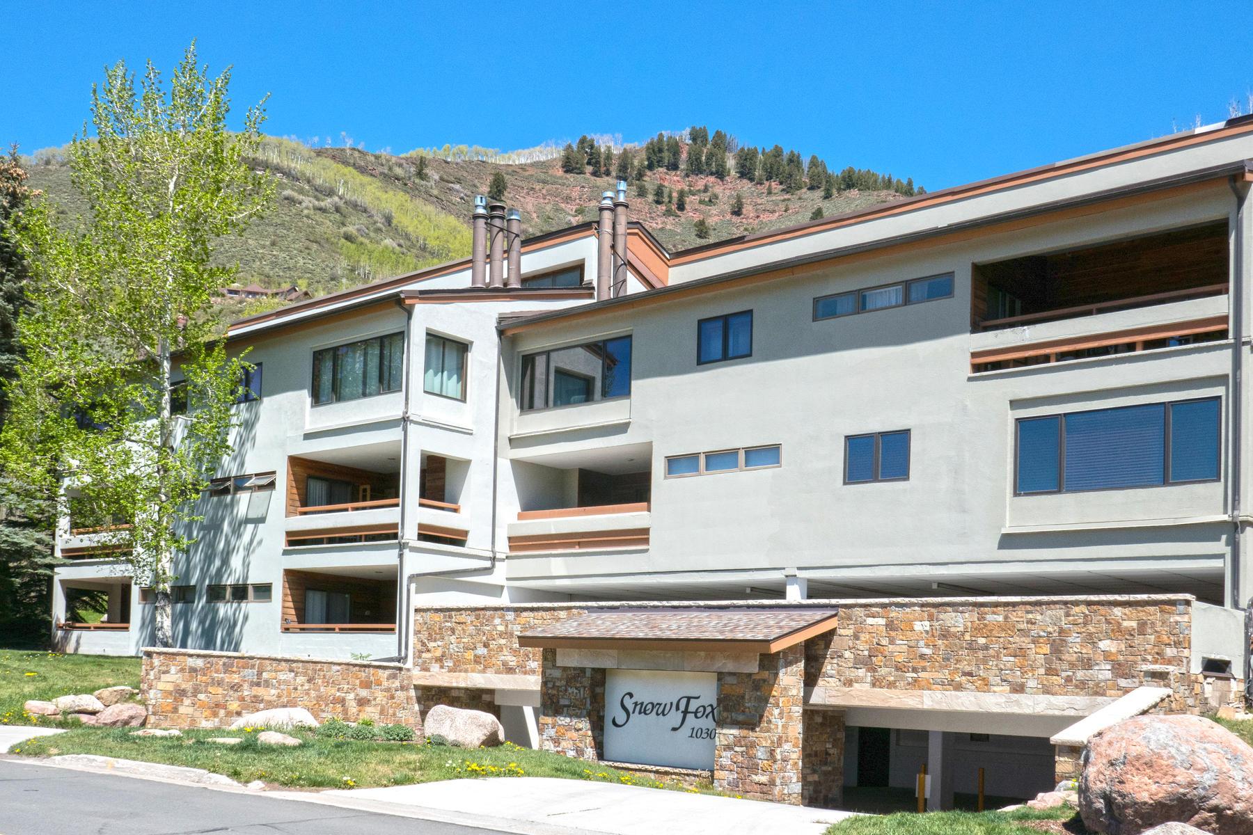 Copropriété pour l Vente à Remodeled and Furnished Snow Fox Residence 1030 Lions Ridge Loop #206 Vail, Colorado, 81657 États-Unis
