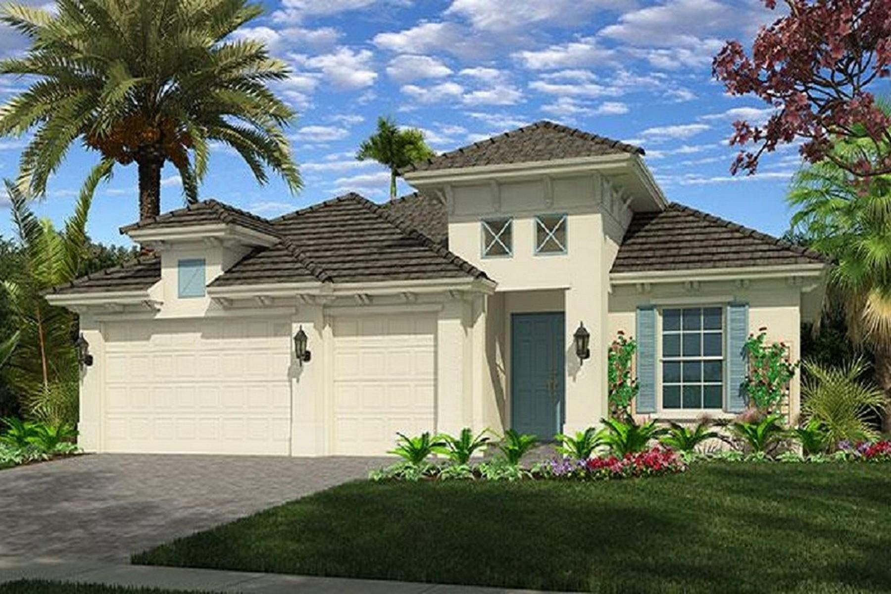 Casa para uma família para Venda às Lovely Home in Lily's Cay 1334 Lily's Cay Circle Vero Beach, Florida, 32967 Estados Unidos