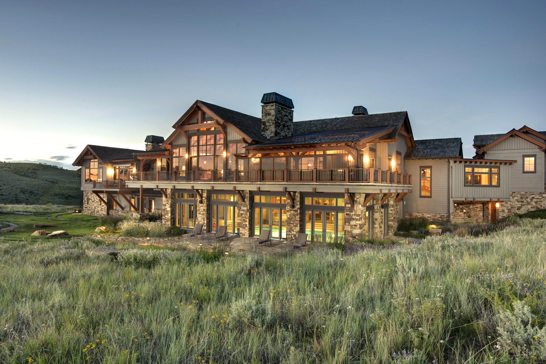 Single Family Home for Active at Mountain Modern Ranch 318 Kicking Horse Trl Edwards, Colorado 81632 United States