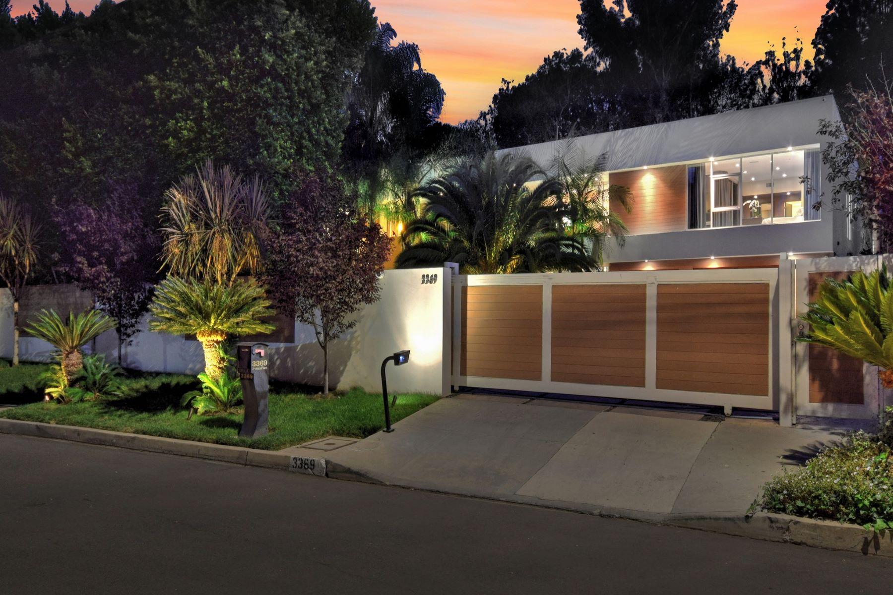 Single Family Homes por un Venta en 3369 Fryman Place Studio City, California 91604 Estados Unidos