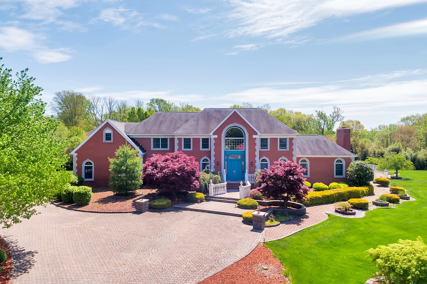 Single Family Home for Sale at Serenity is Yours in Tiberon Estates! 11 Monterey Court Holmdel, New Jersey 07733 United States