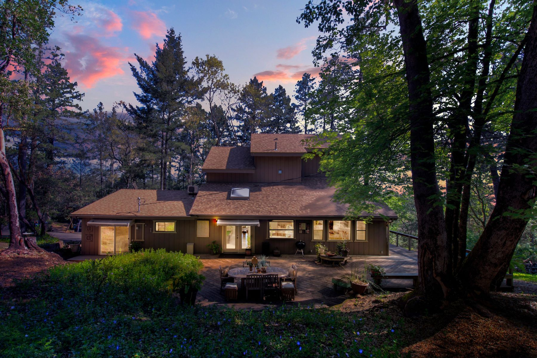 Single Family Homes for Active at Howell Mountain Retreat 1381 Summit Lake Drive Angwin, California 94508 United States