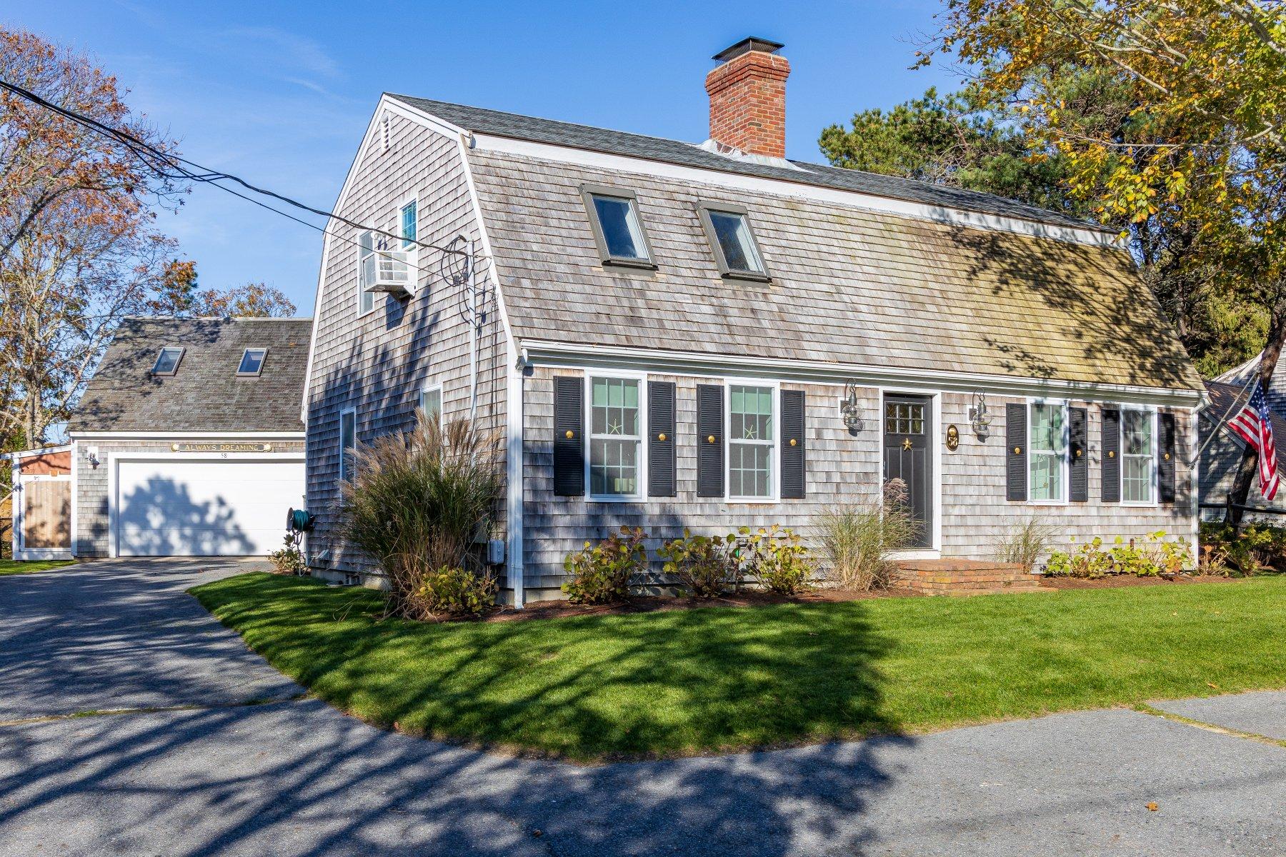 Single Family Homes por un Venta en 58 Agnes Lane, Chatham, MA 02633 58 Agnes Lane Chatham, Massachusetts 02633 Estados Unidos