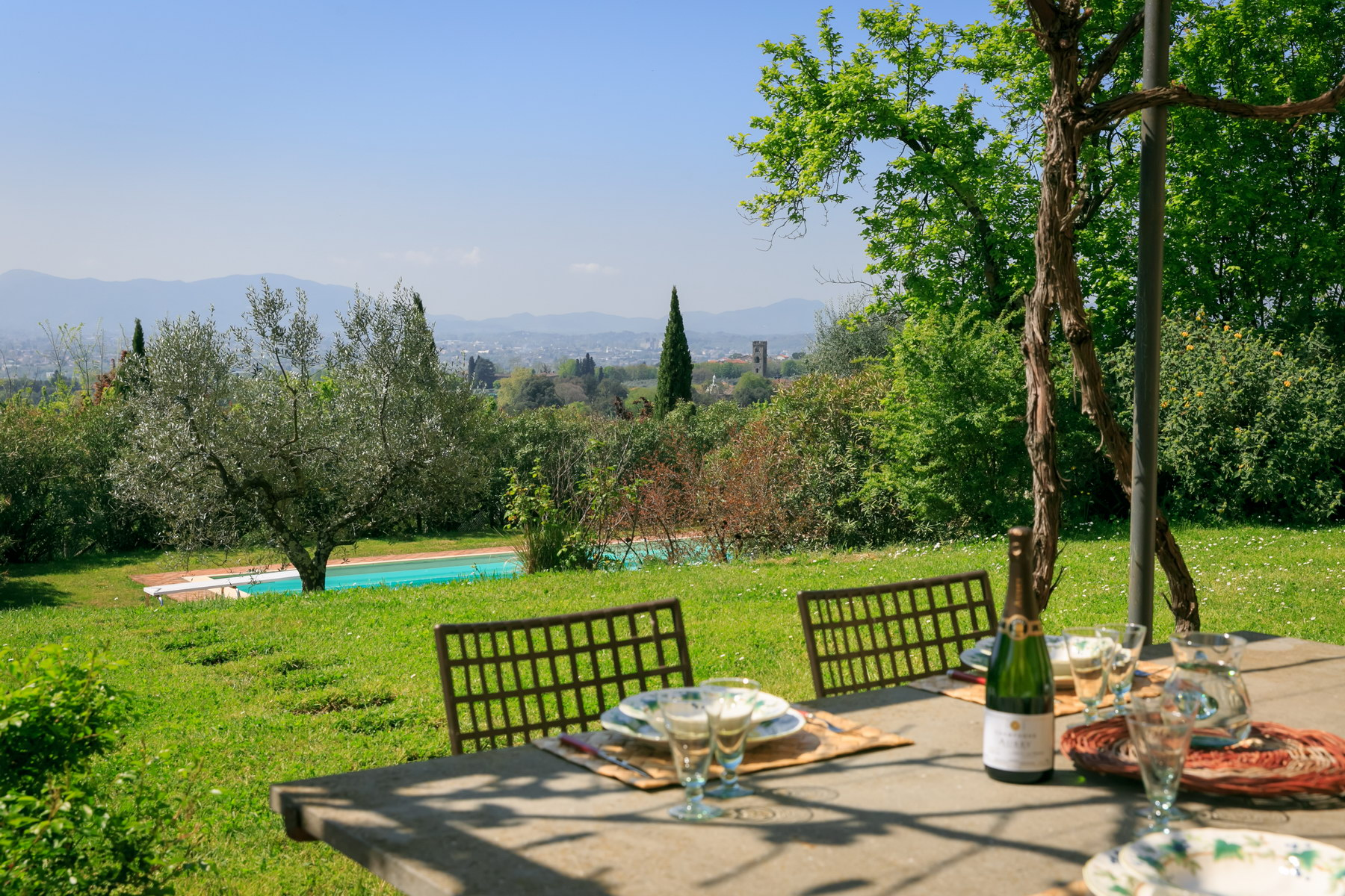 Single Family Home for Sale at Charming country house overlooking the hills of Lucca Capannori, Lucca Italy