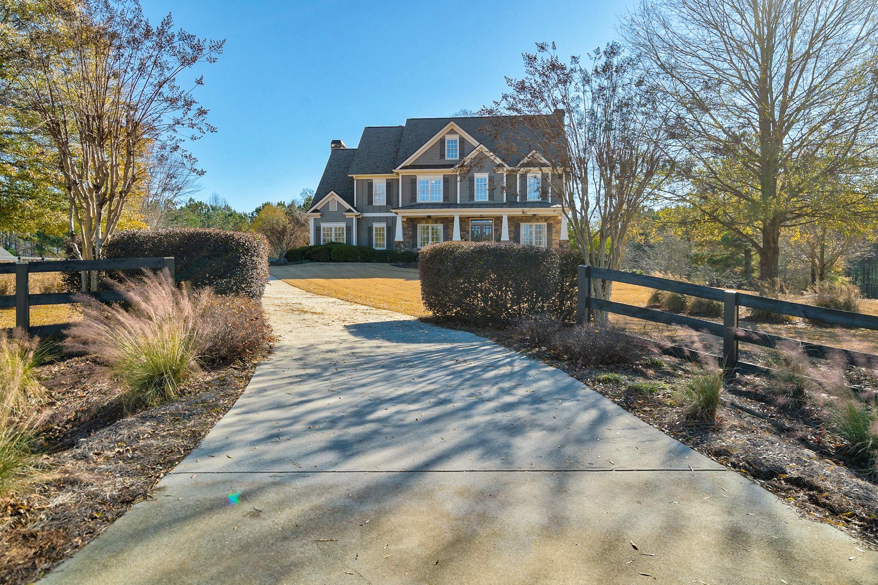 Single Family Home for Sale at Blue Ribbon Equestrian Estate 132 Savanna Estates Drive Canton, Georgia 30115 United States