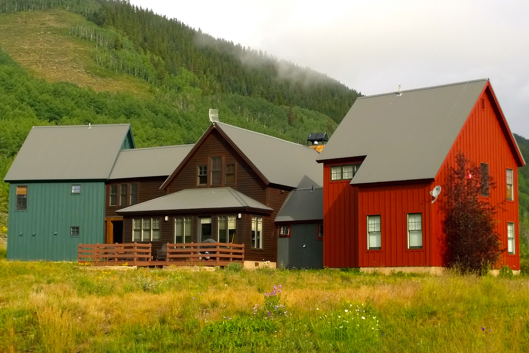Single Family Home for Sale at Distinguished Residence 781 County Road 4 Crested Butte, Colorado 81224 United States