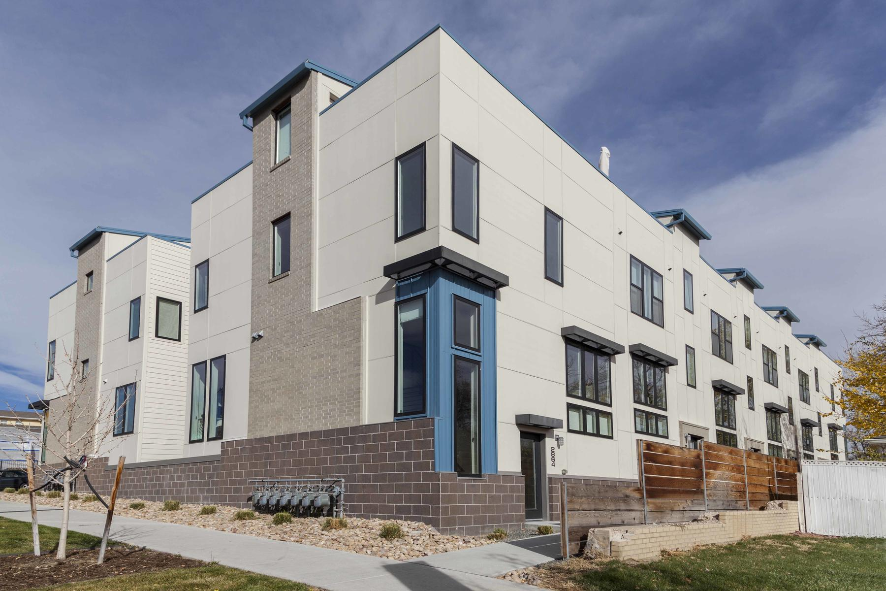 Townhouse for Active at 2864 Tennyson Street 2864 Tennyson Street Denver, Colorado 80204 United States