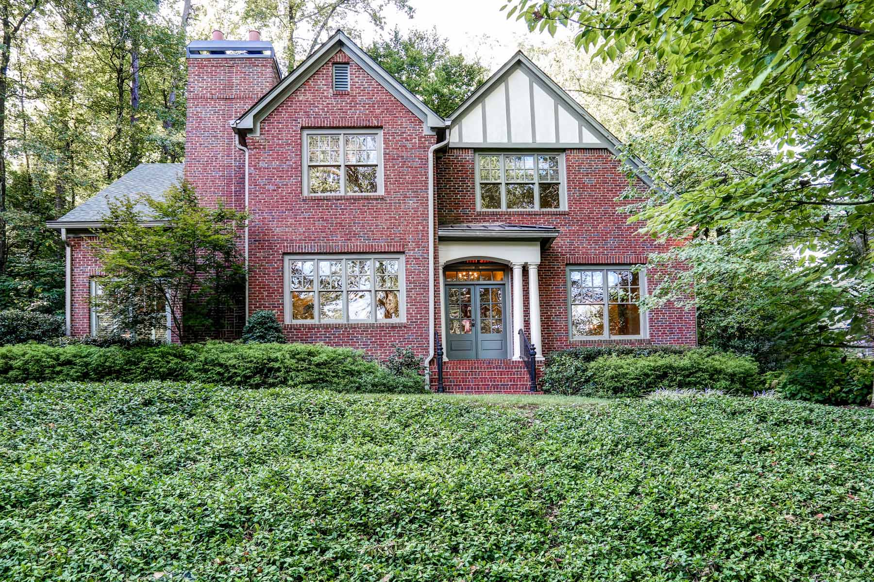Single Family Home for Sale at Unusual Opportunity for Newer Residence in historic Druid Hills 899 Clifton Road NE Druid Hills, Atlanta, Georgia, 30307 United States