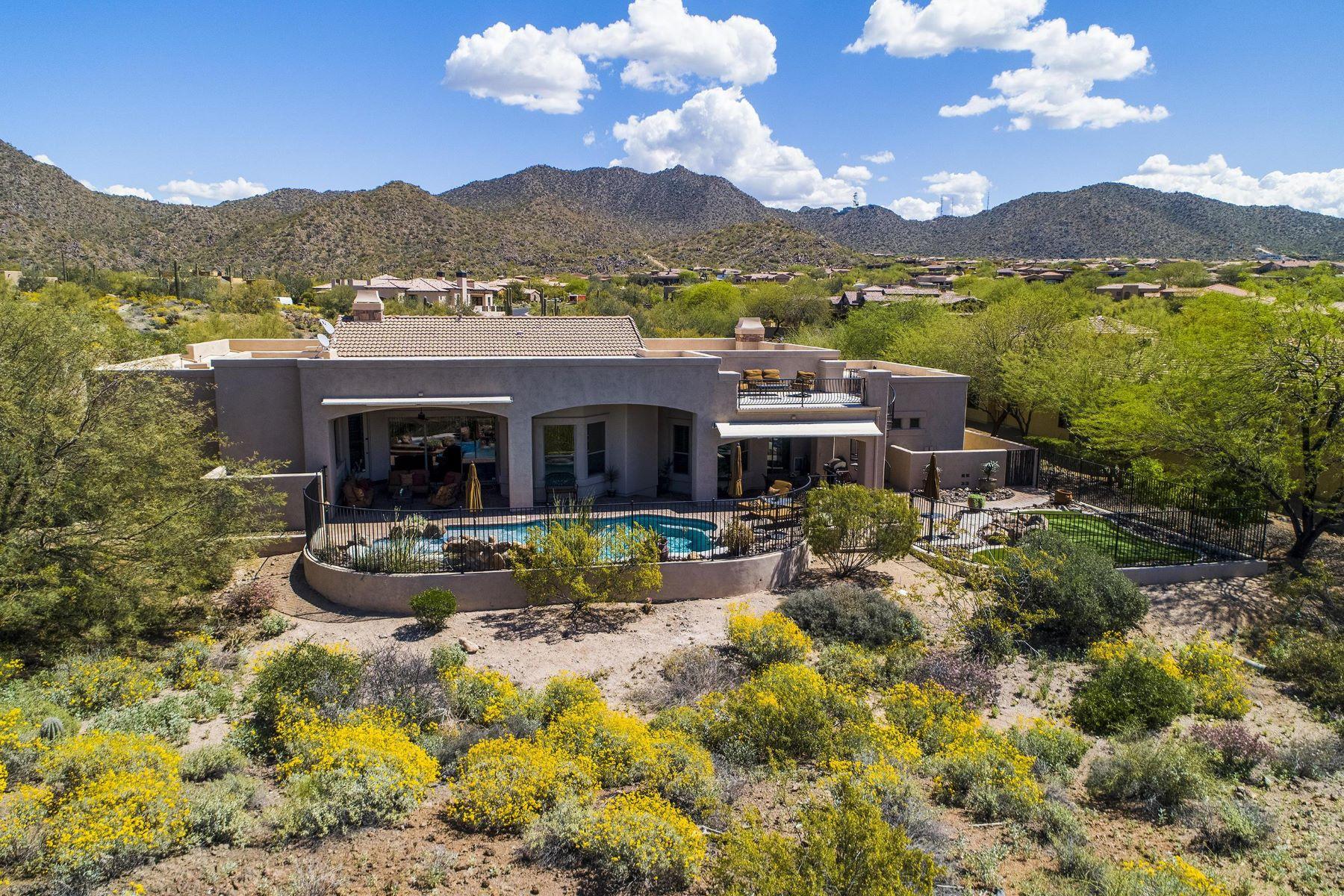 single family homes for Active at Hidden Canyon at Las Sendas 4304 N DESERT OASIS CIR Mesa, Arizona 85207 United States