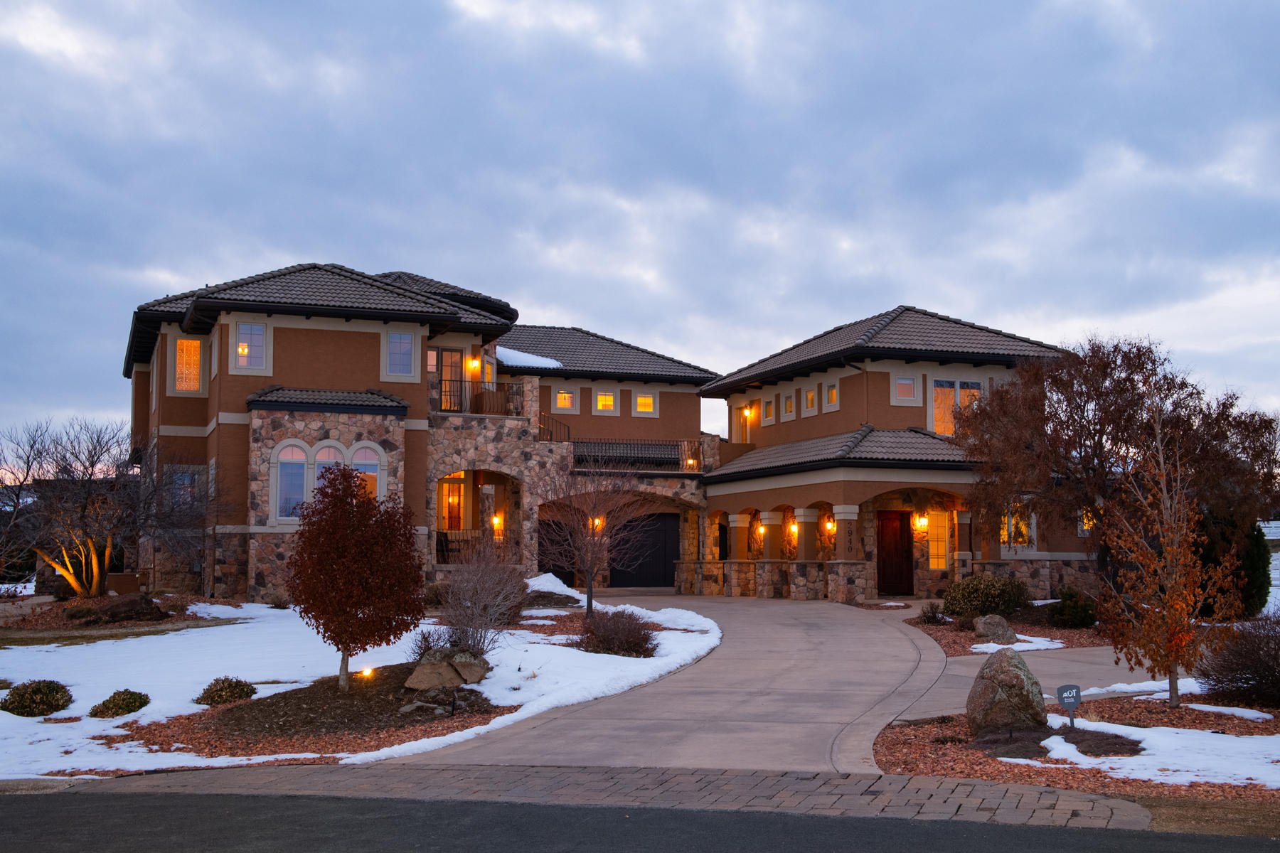 Single Family Homes for Sale at Custom Tuscan Villa 2940 High Prairie Way Broomfield, Colorado 80023 United States