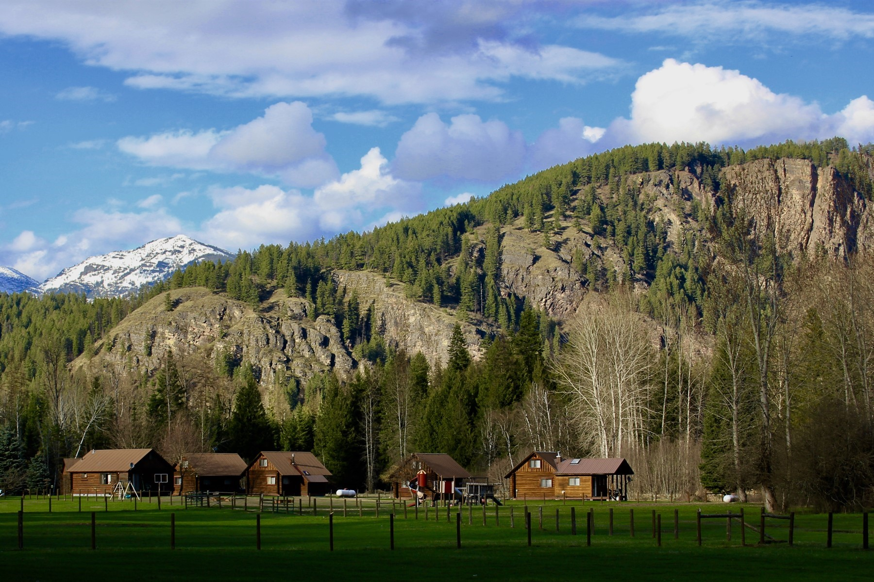 Single Family Homes for Sale at Diamond T Ranch River Rd. Clark Fork, Idaho 83811 United States