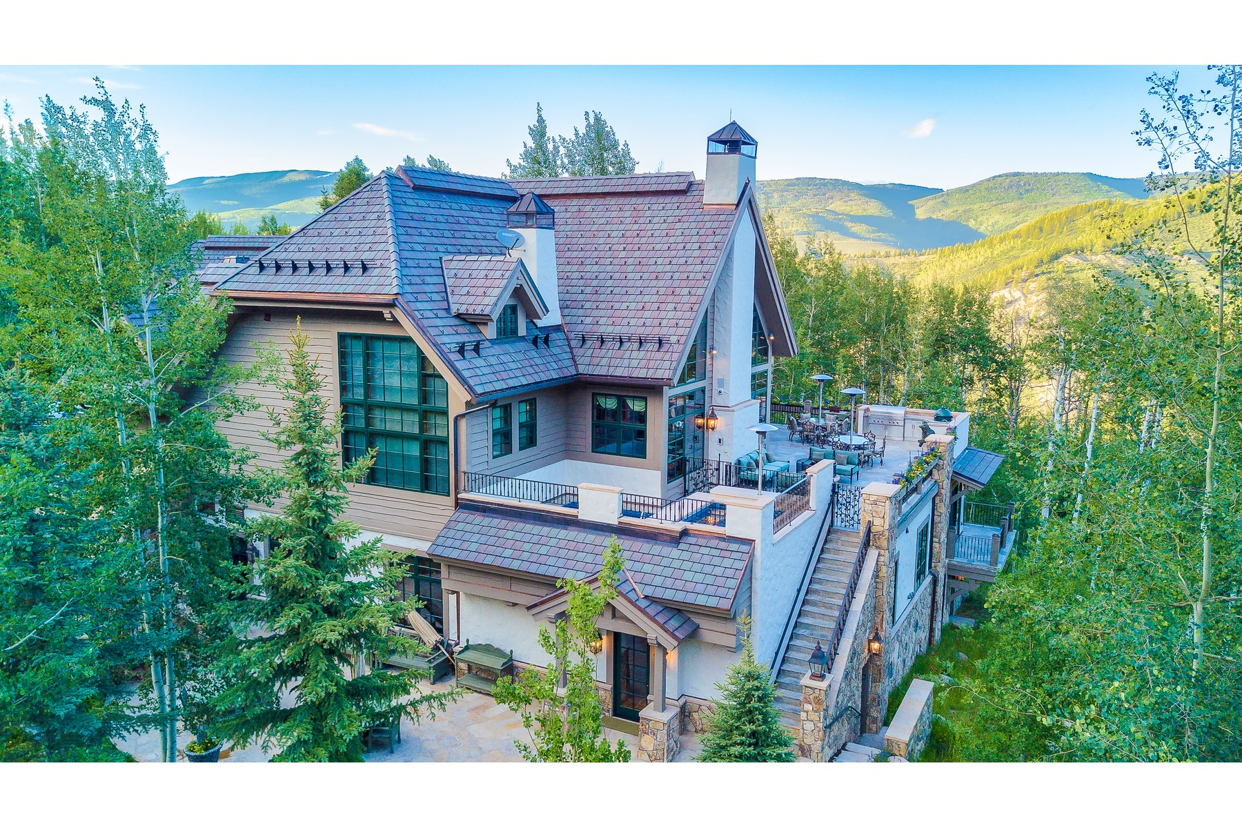 Single Family Home for Active at Extensive new construction with state-of-the-art technology 22 Strawberry Park Road Beaver Creek, Colorado 81620 United States