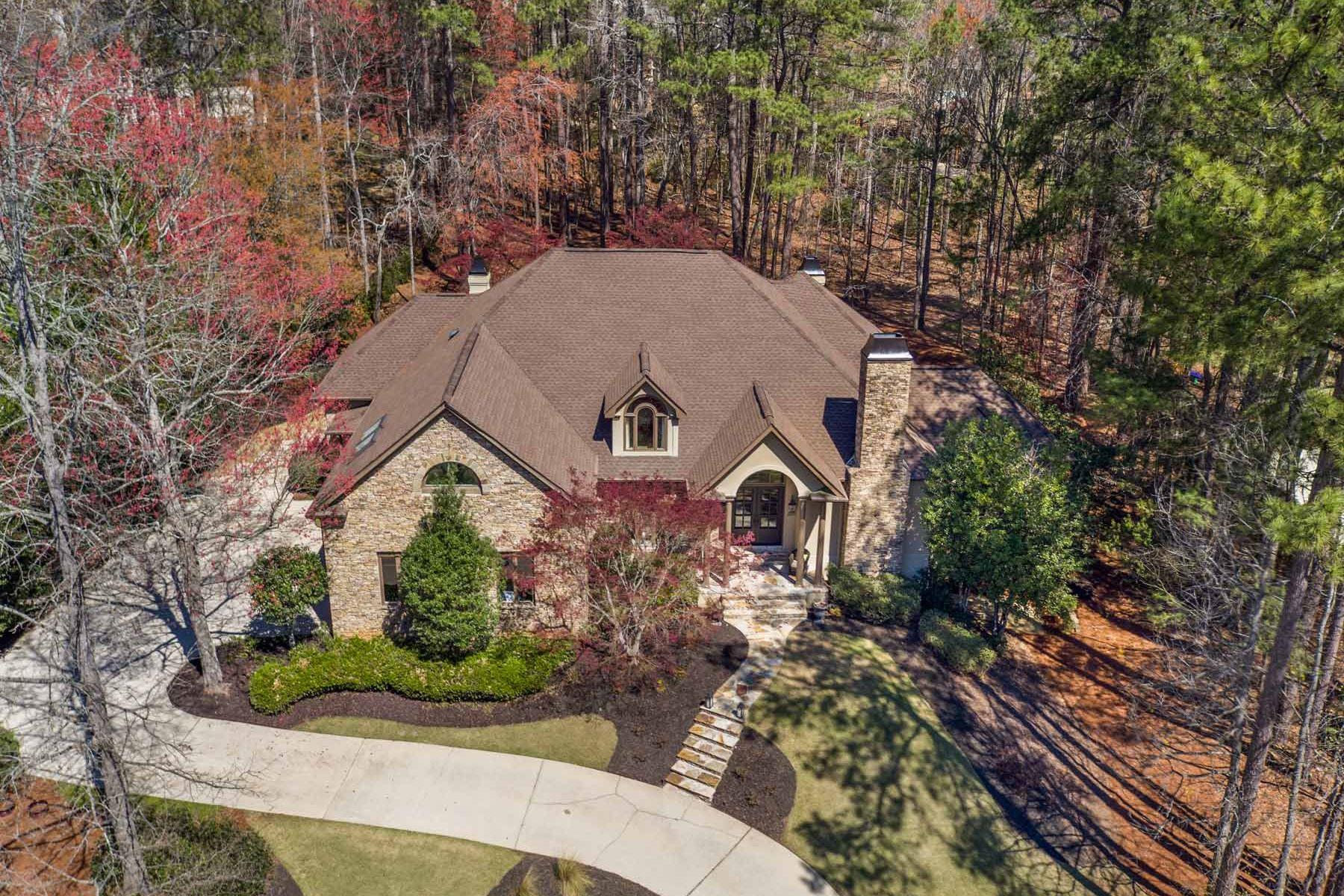 独户住宅 为 销售 在 Country Club Of The South 820 Malvern Hill 阿法乐特, 乔治亚州, 30022 美国