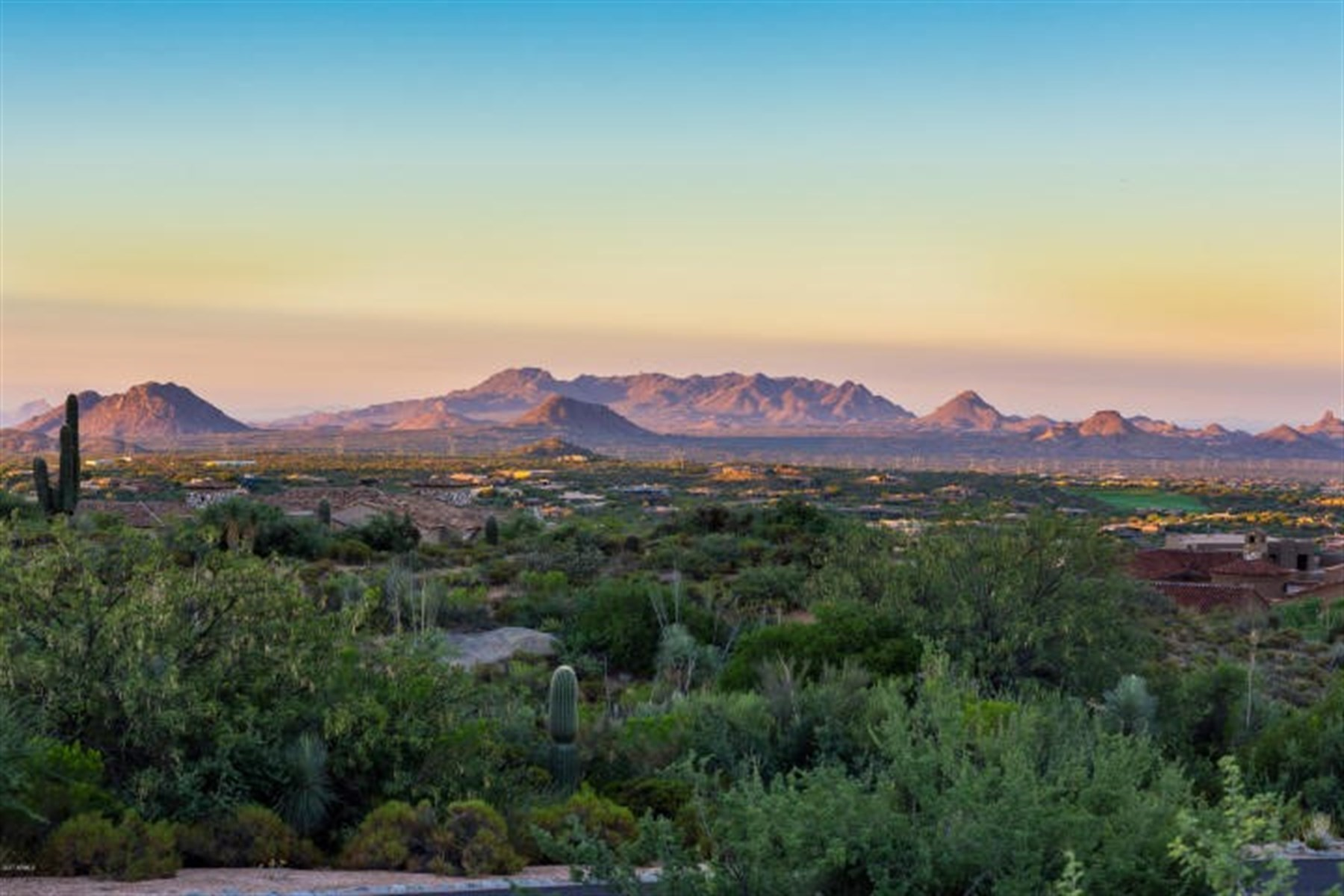 Land for Sale at South facing lot with tremendous mountain and city light views 42480 N 111th Pl lot 80, Scottsdale, Arizona, 85262 United States